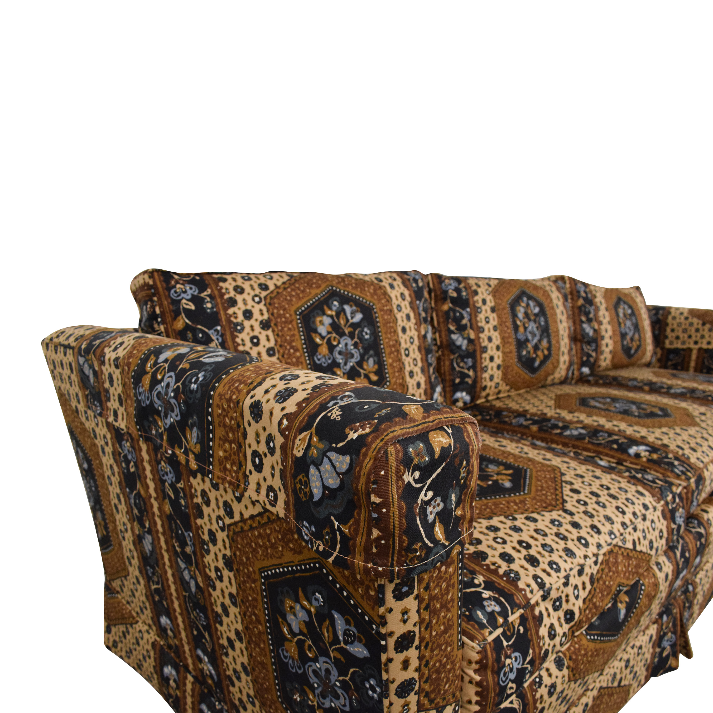 Patterned Three Seater Sofa on sale