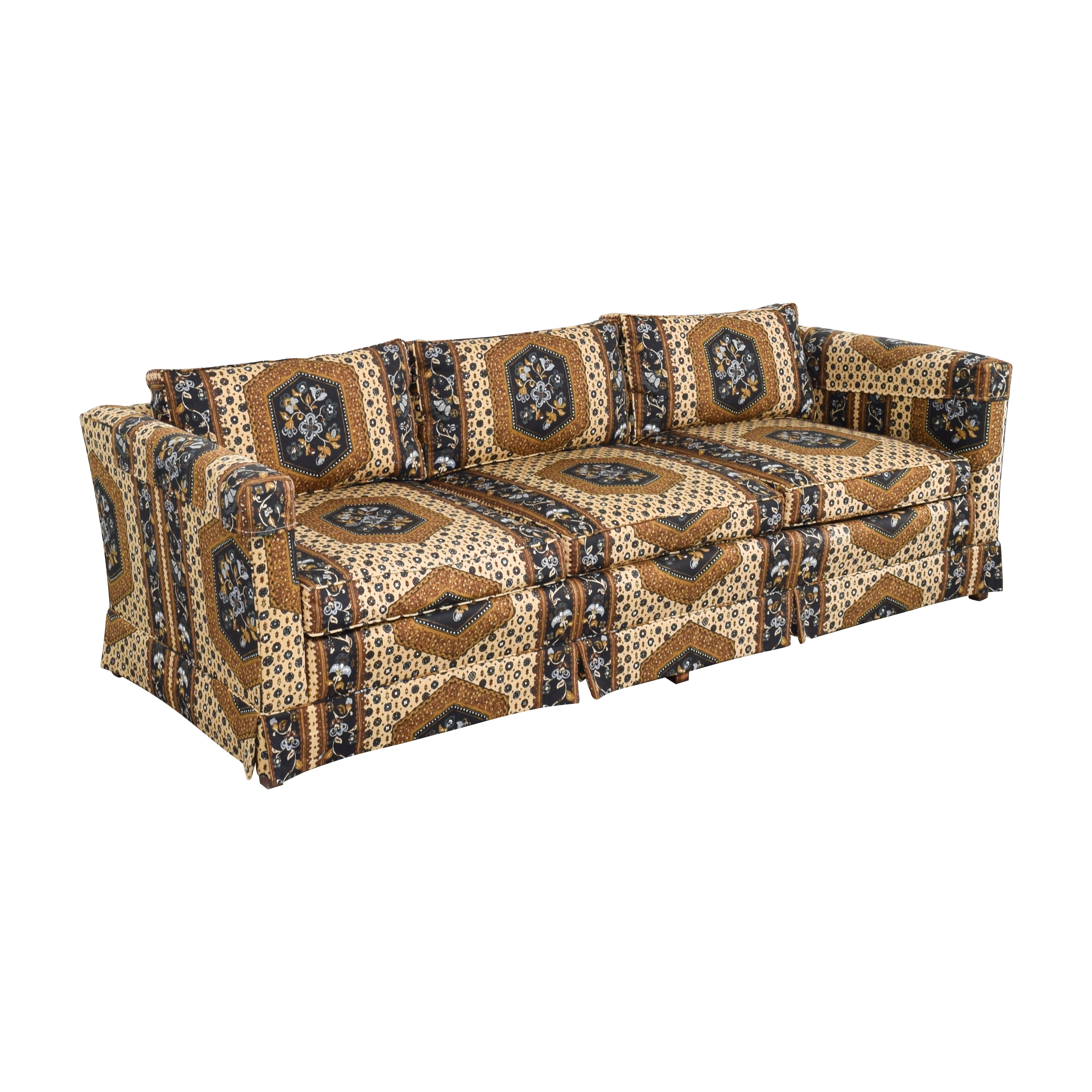 Patterned Three Seater Sofa ma