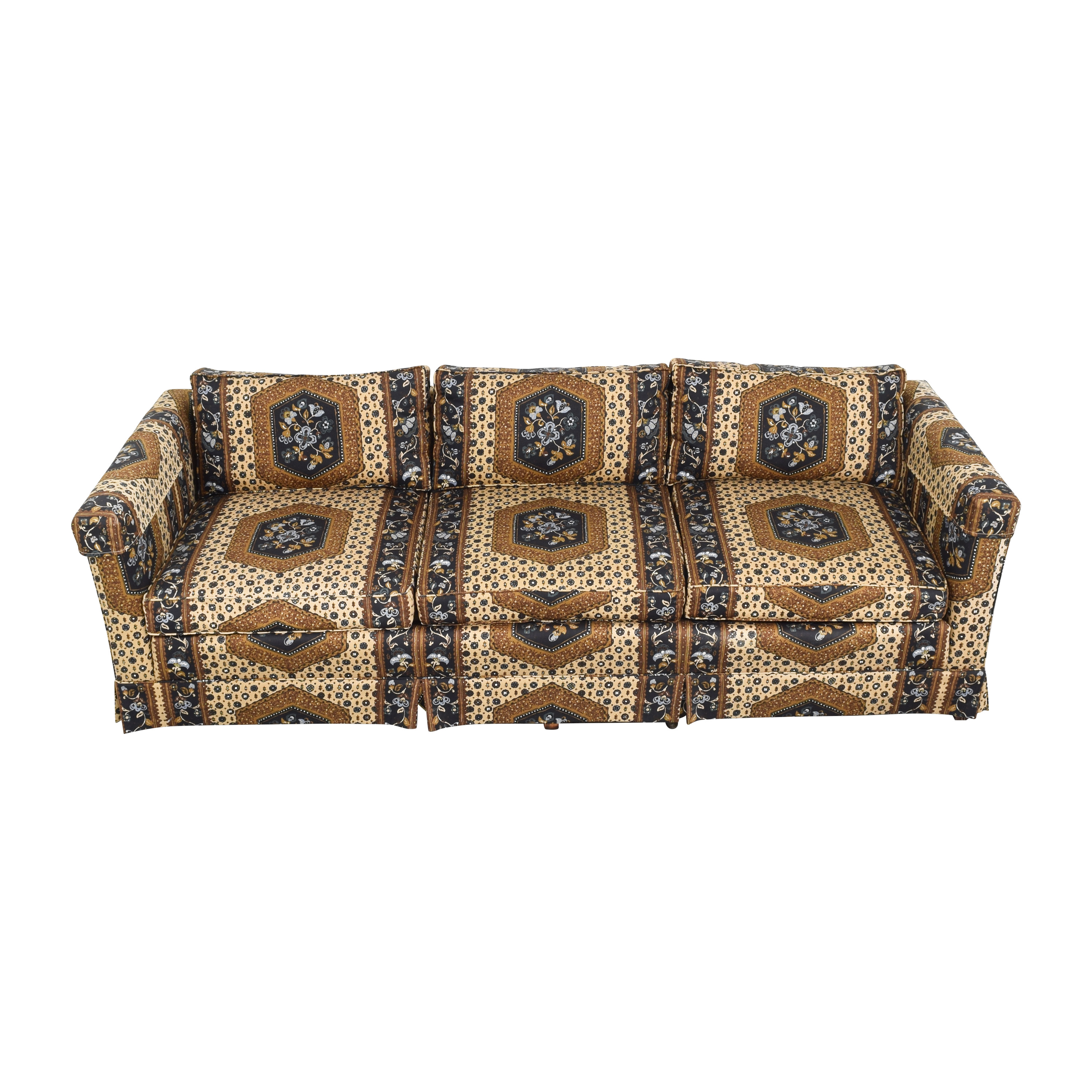 buy  Patterned Three Seater Sofa online