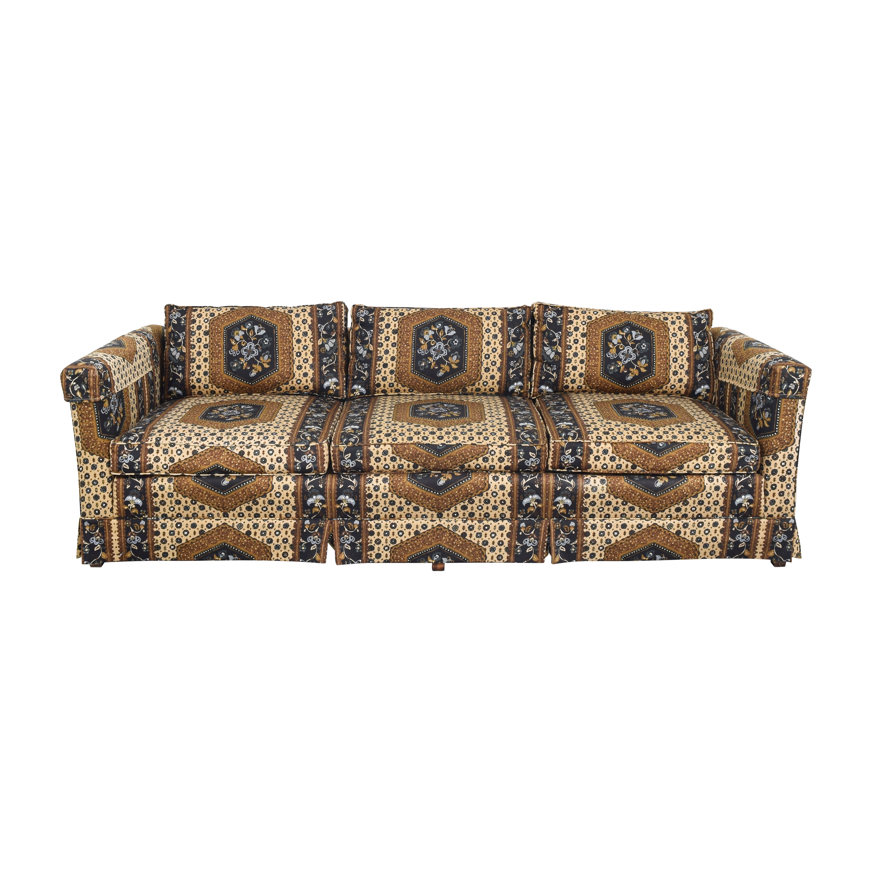 Patterned Three Seater Sofa for sale