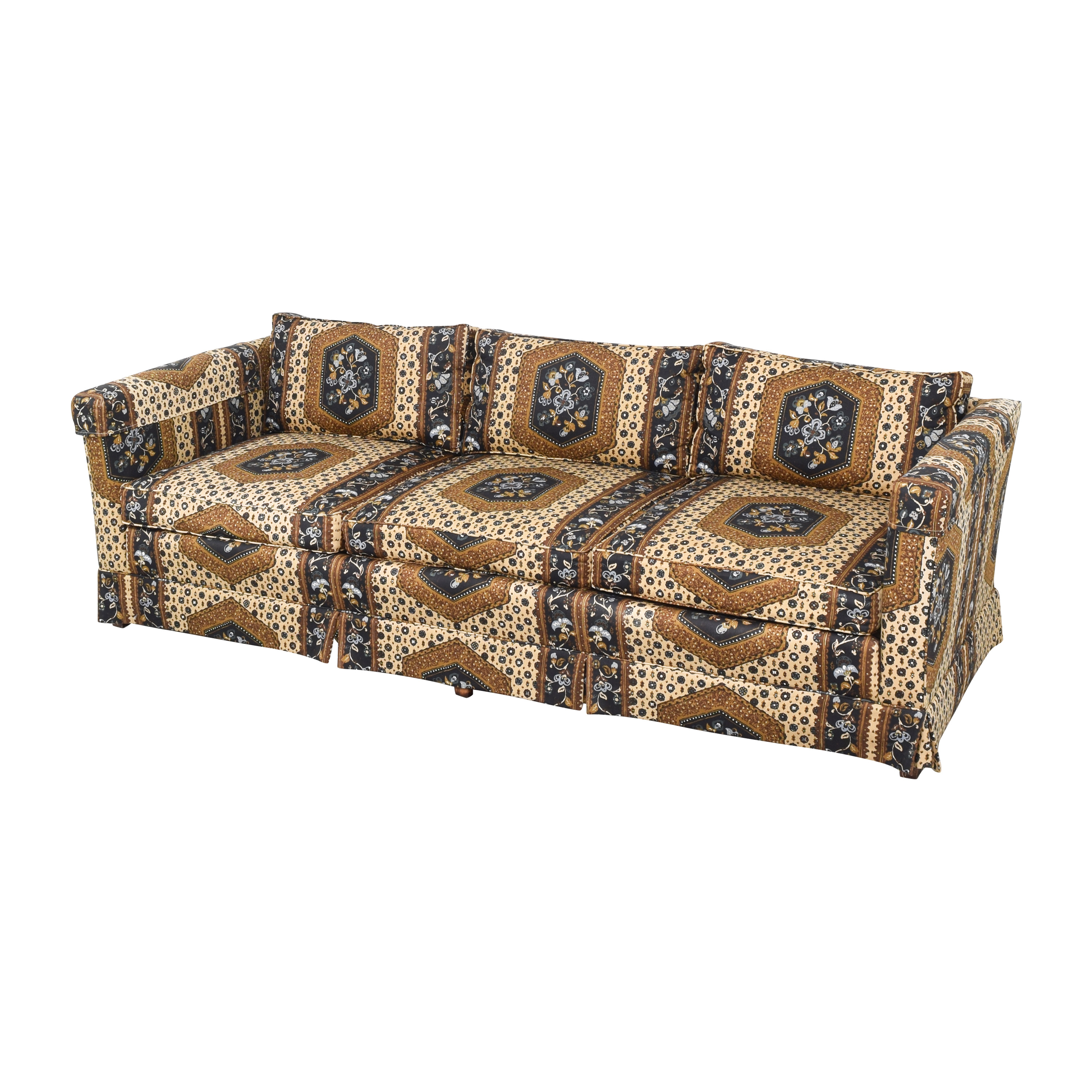 Patterned Three Seater Sofa multi