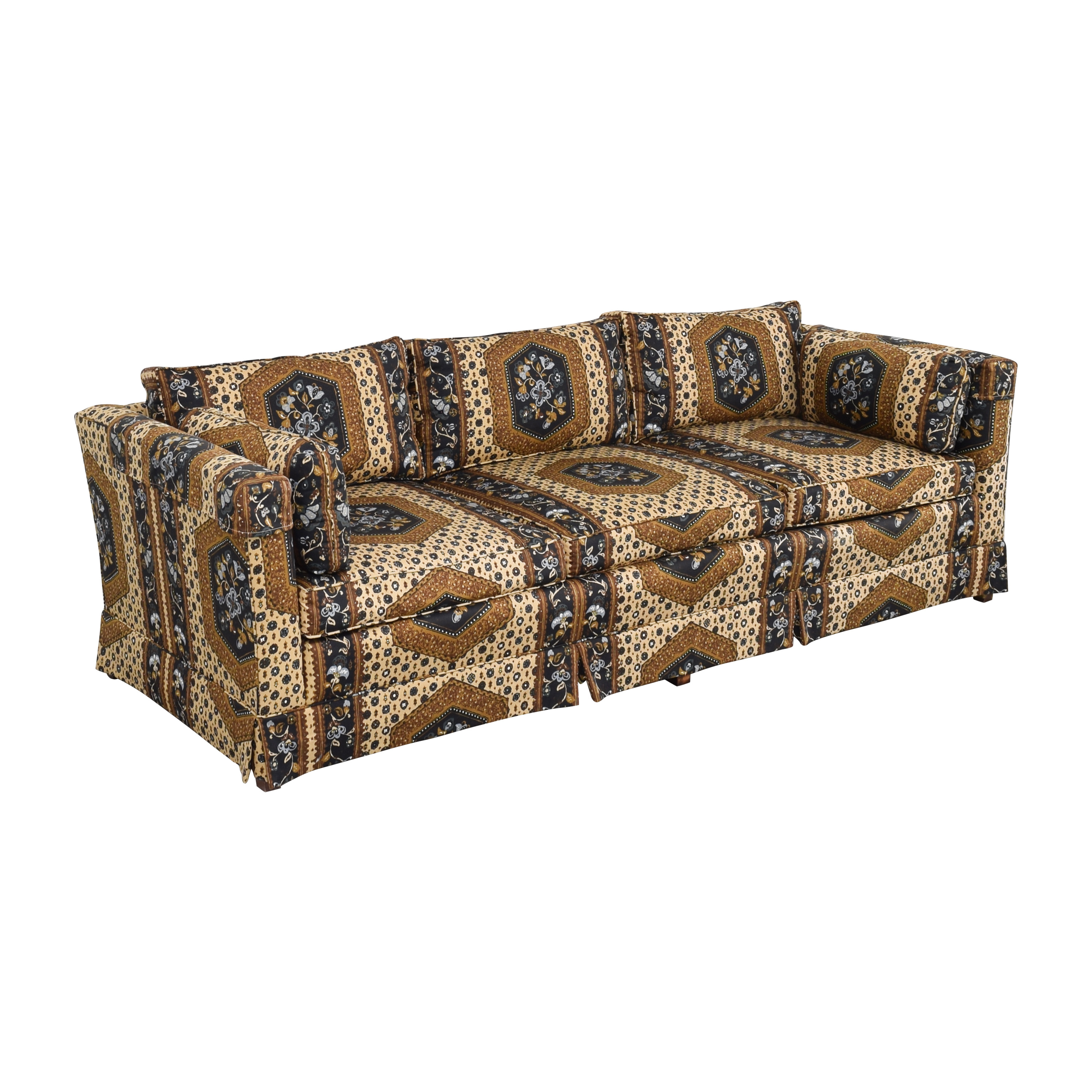 buy Patterned Three Seater Sofa  Classic Sofas