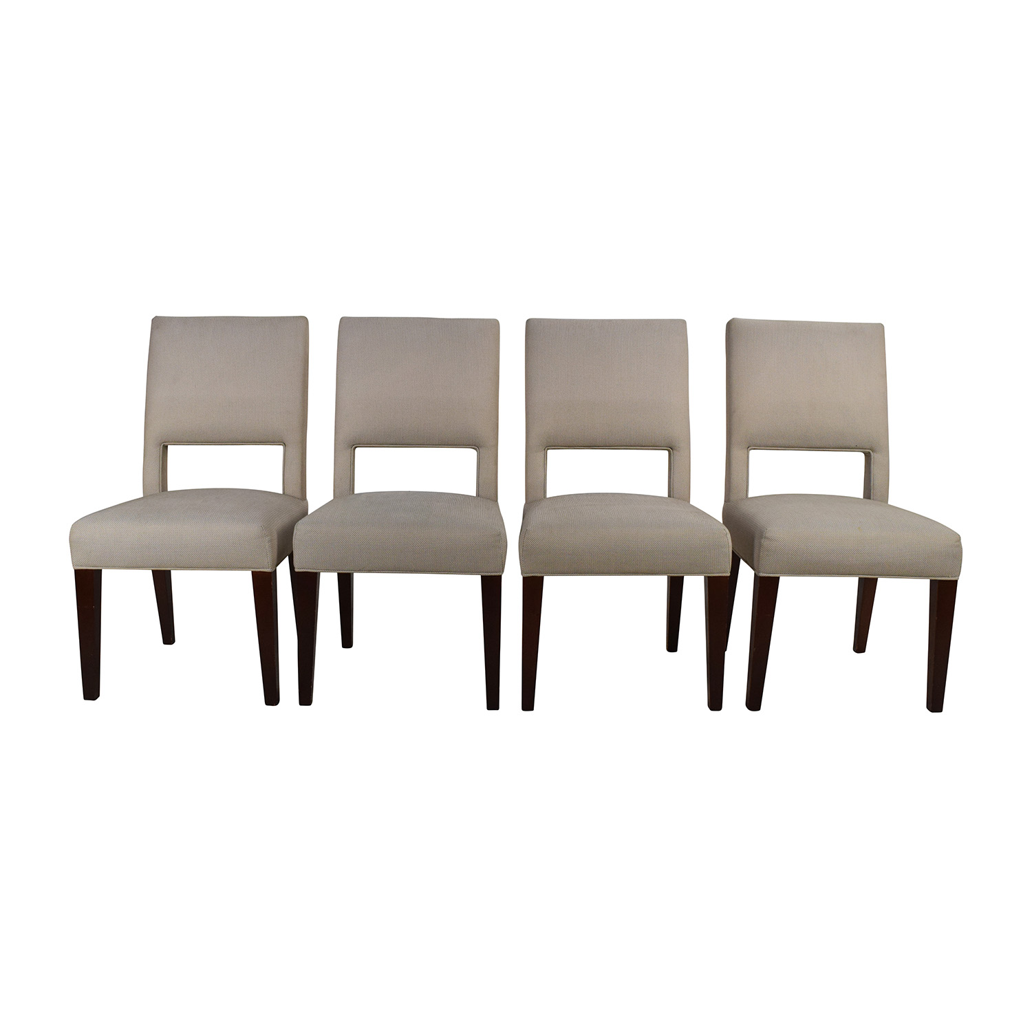 Set of 4 Custom Dining Chairs Chairs