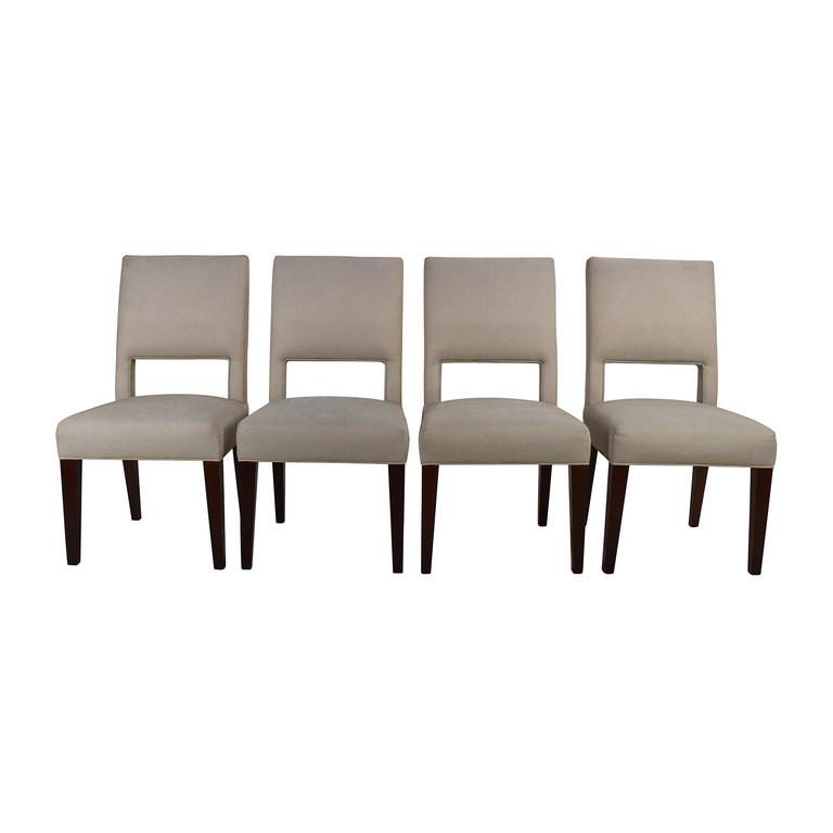 buy Set of 4 Custom Dining Chairs