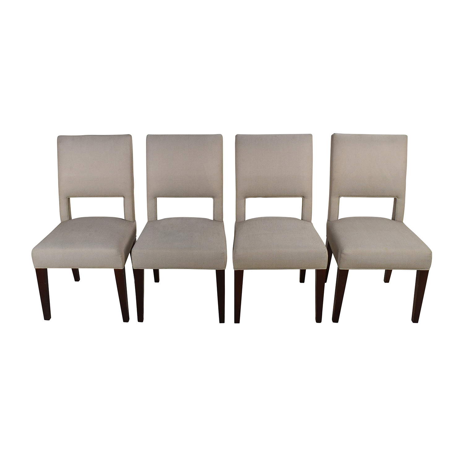 shop Set of 4 Custom Dining Chairs Dining Chairs