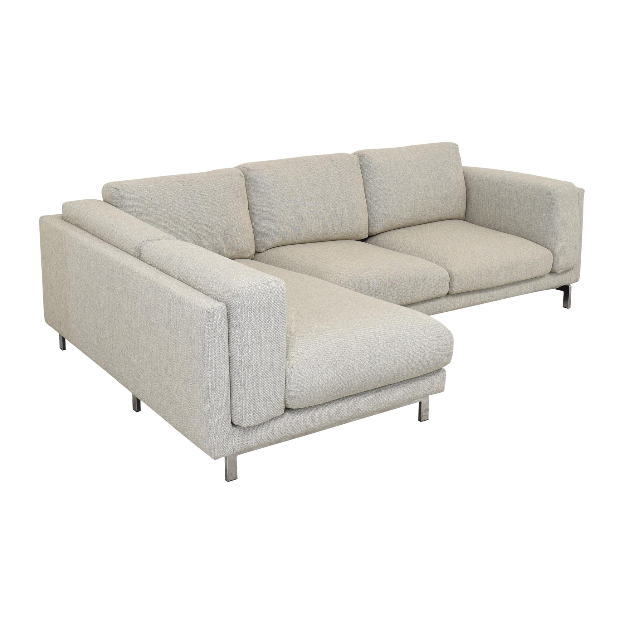 buy IKEA Nockeby Three Seat Sofa IKEA Sectionals