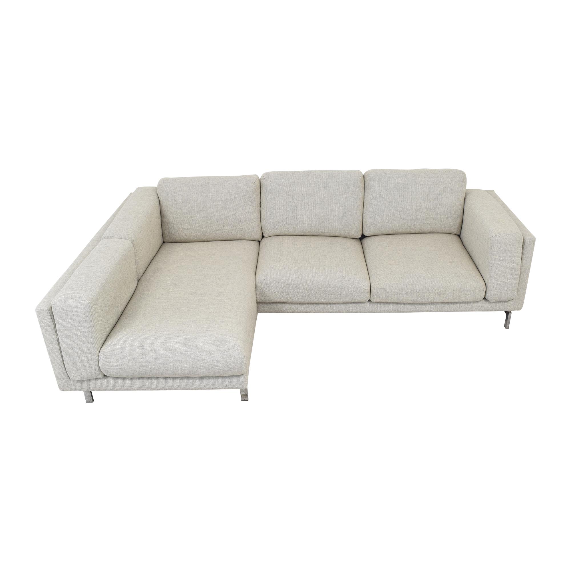IKEA IKEA Nockeby Three Seat Sofa ct
