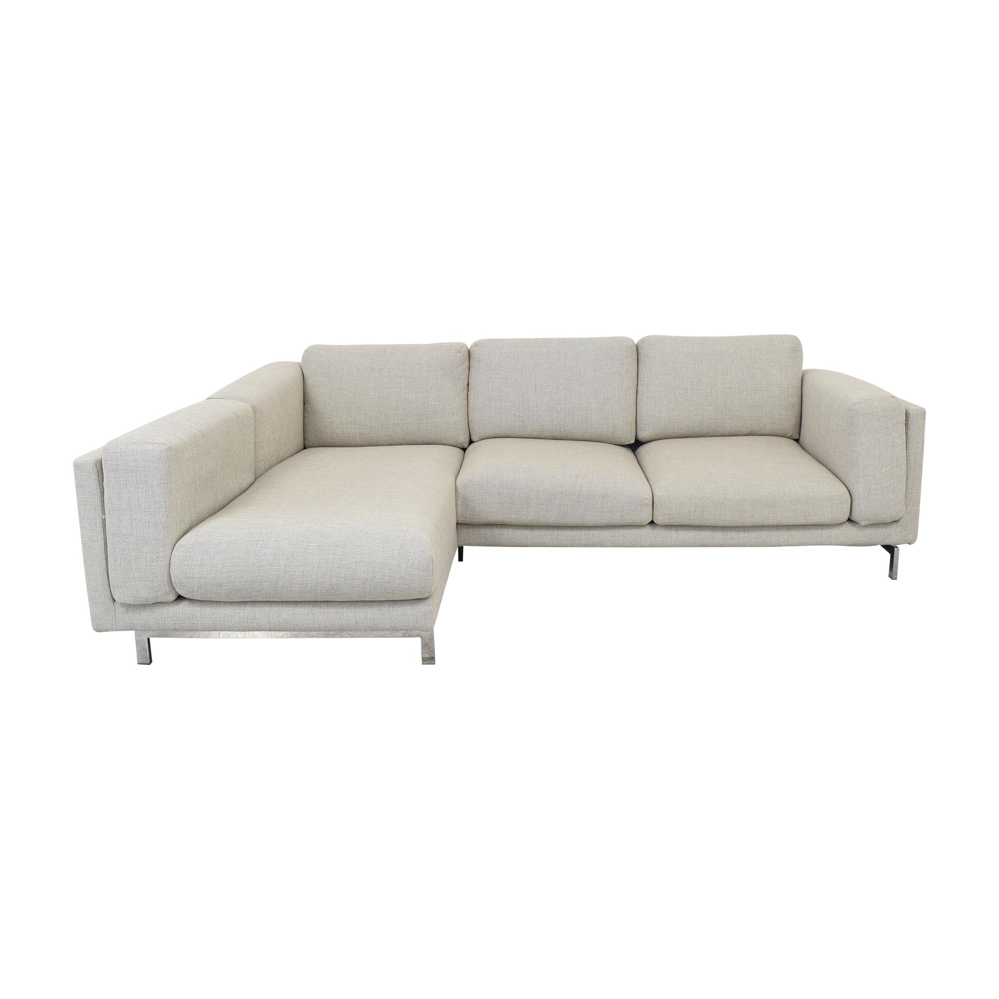 IKEA IKEA Nockeby Three Seat Sofa nyc