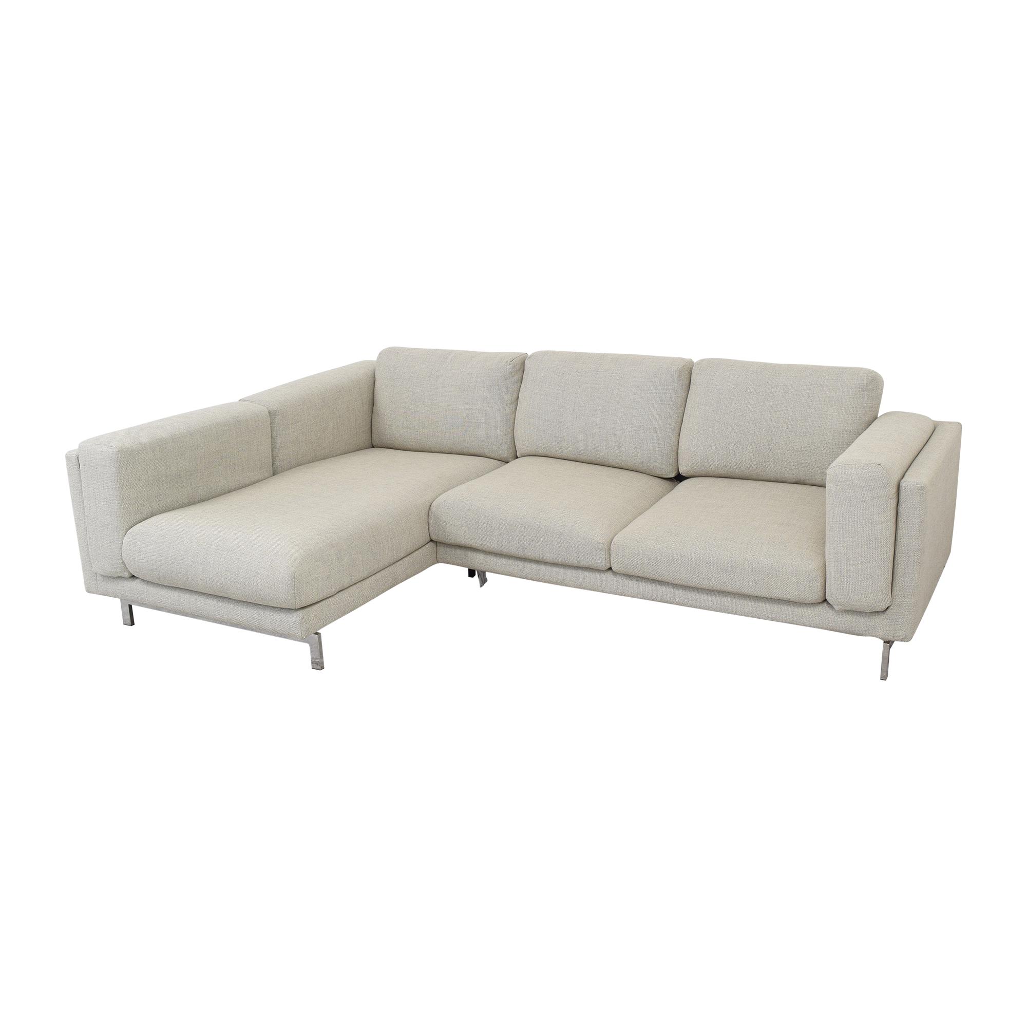 IKEA IKEA Nockeby Three Seat Sofa on sale