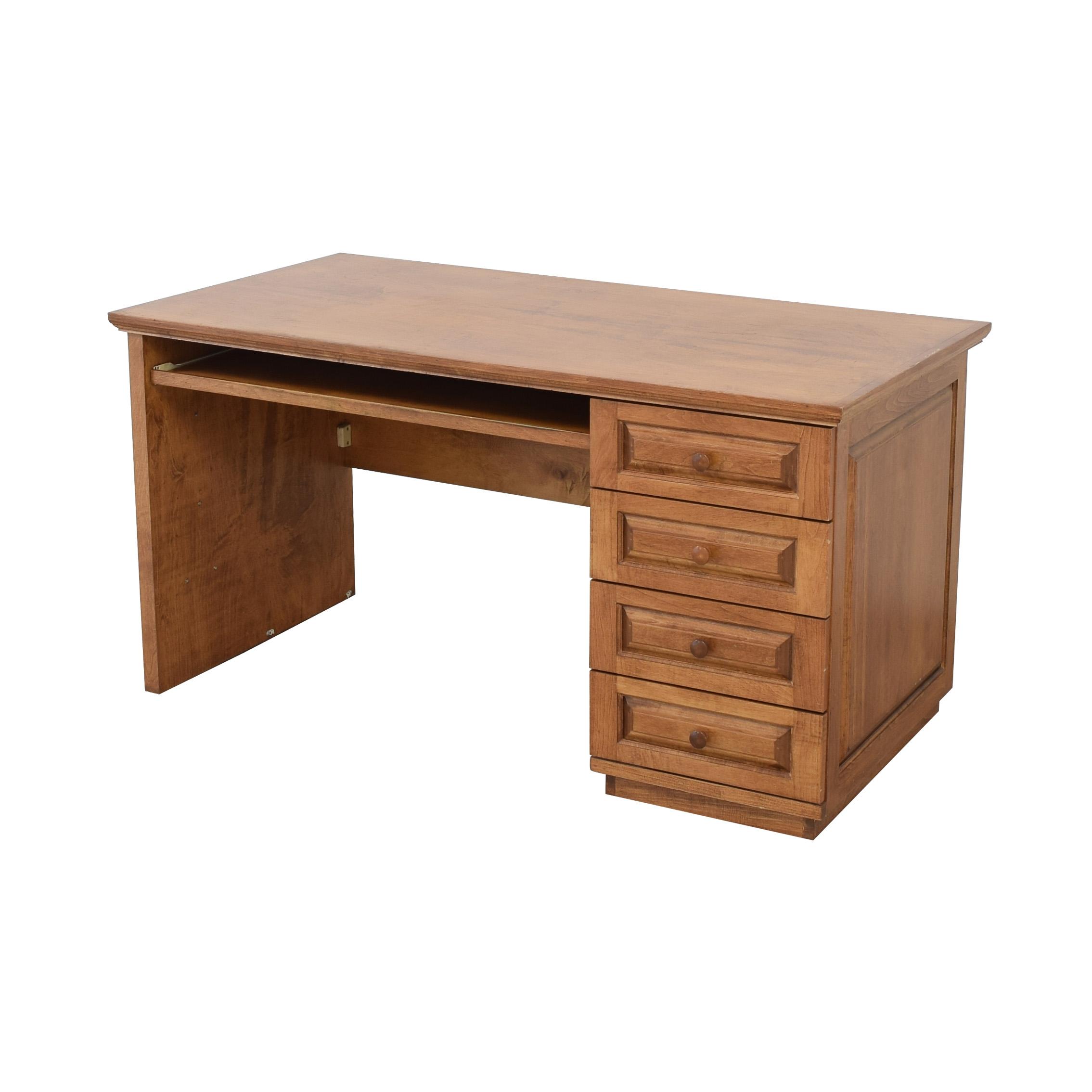 Gothic Cabinet Craft Gothic Cabinet Craft Executive Desk for sale