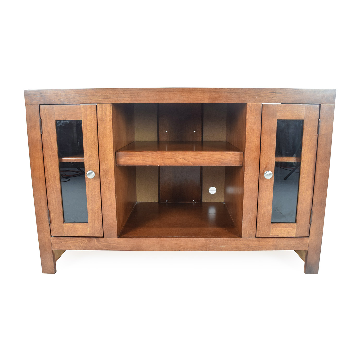 shop Raymour and Flanigan Delmar Media Unit Raymour and Flanigan Cabinets & Sideboards