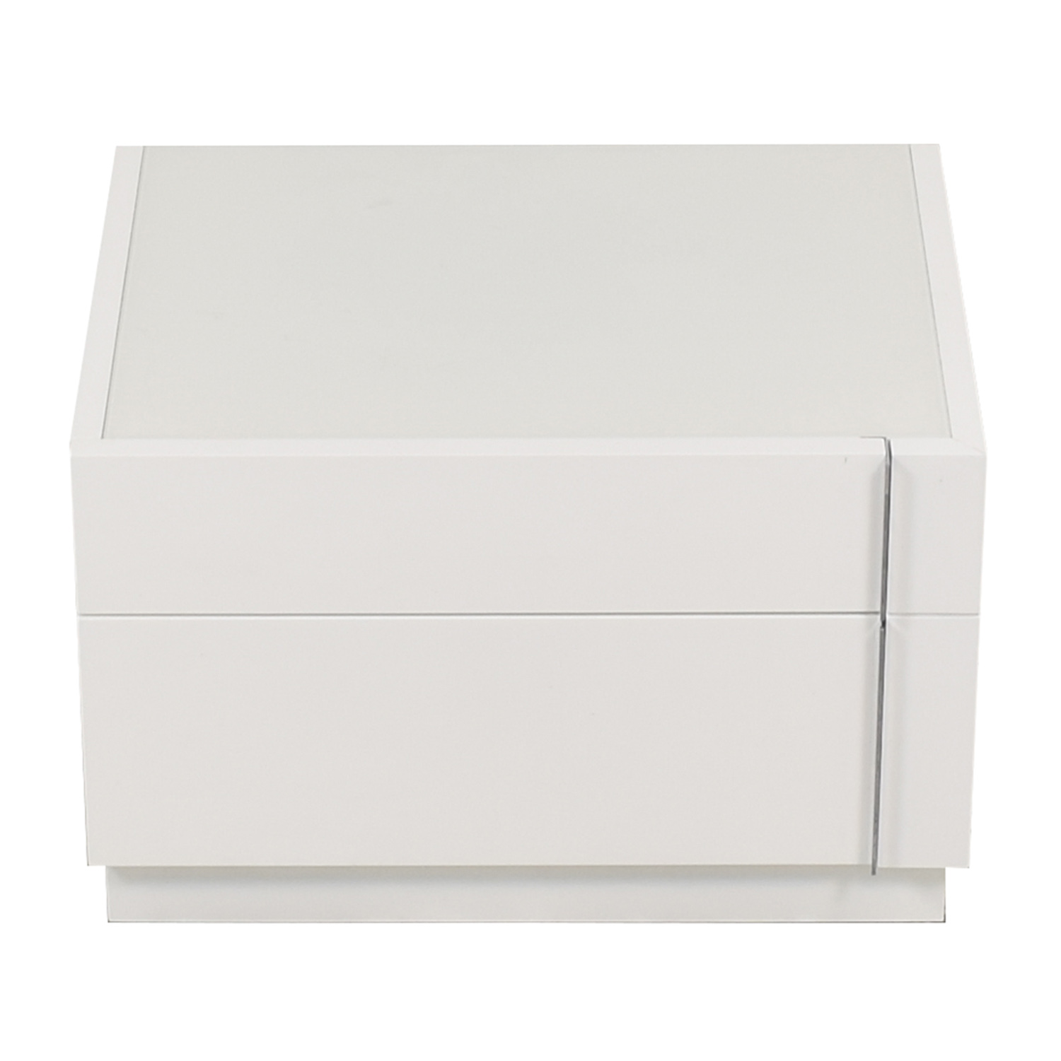 J&M Furniture J&M Furniture Amora Premium Wood Veneer Right Nightstand white