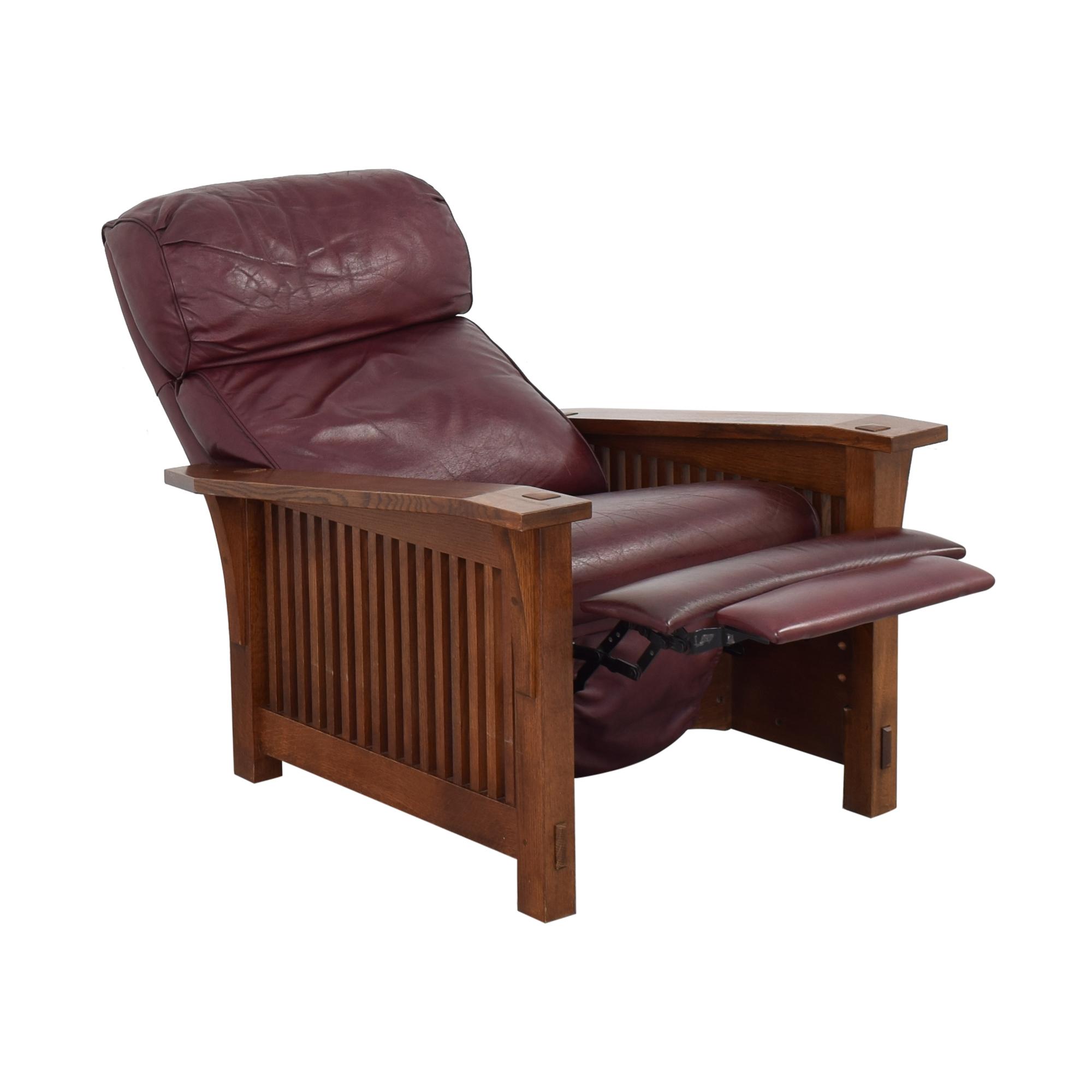 Stickley Furniture Stickley Spindle Morris Recliner ct