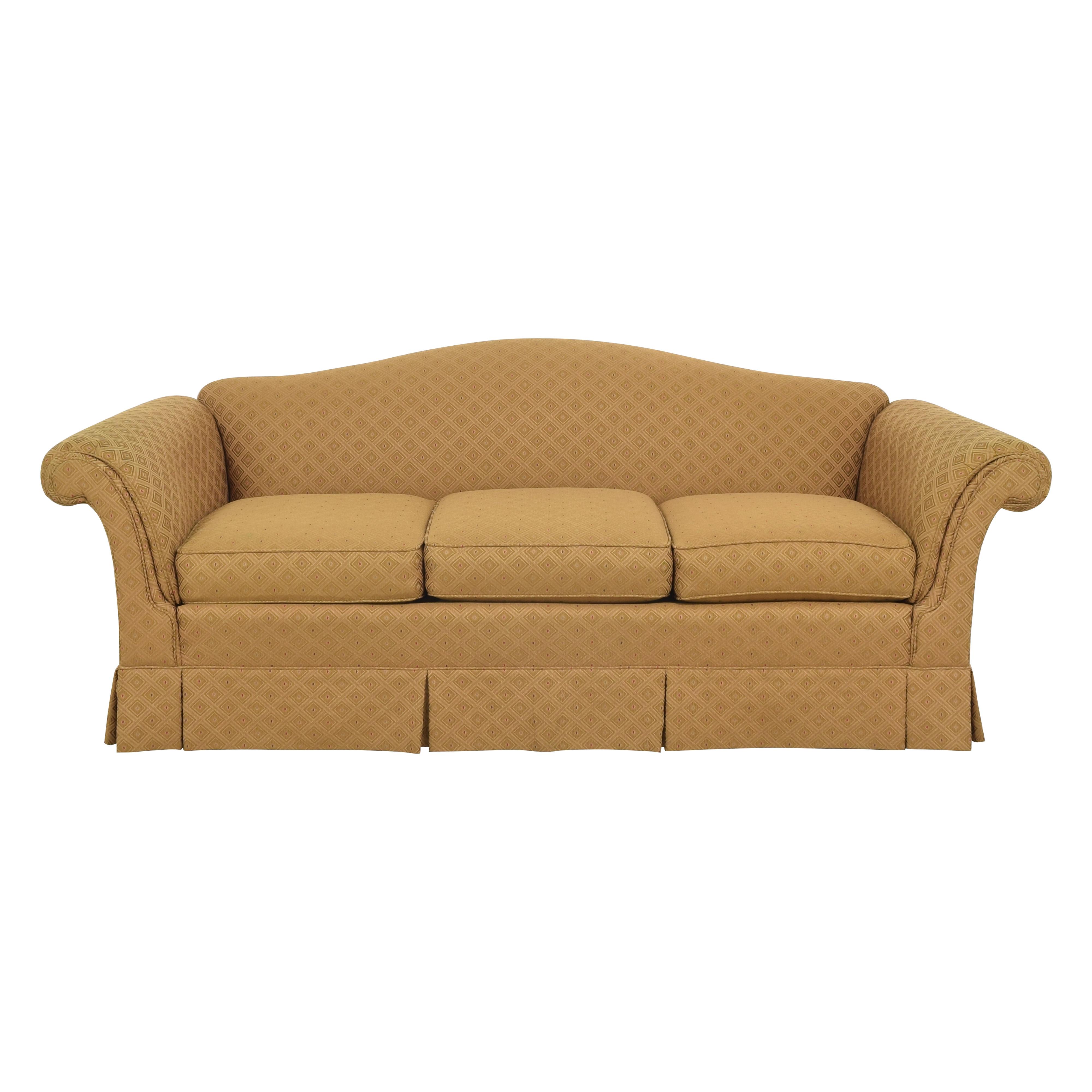 Caiati Caiati Skirted Camelback Sofa