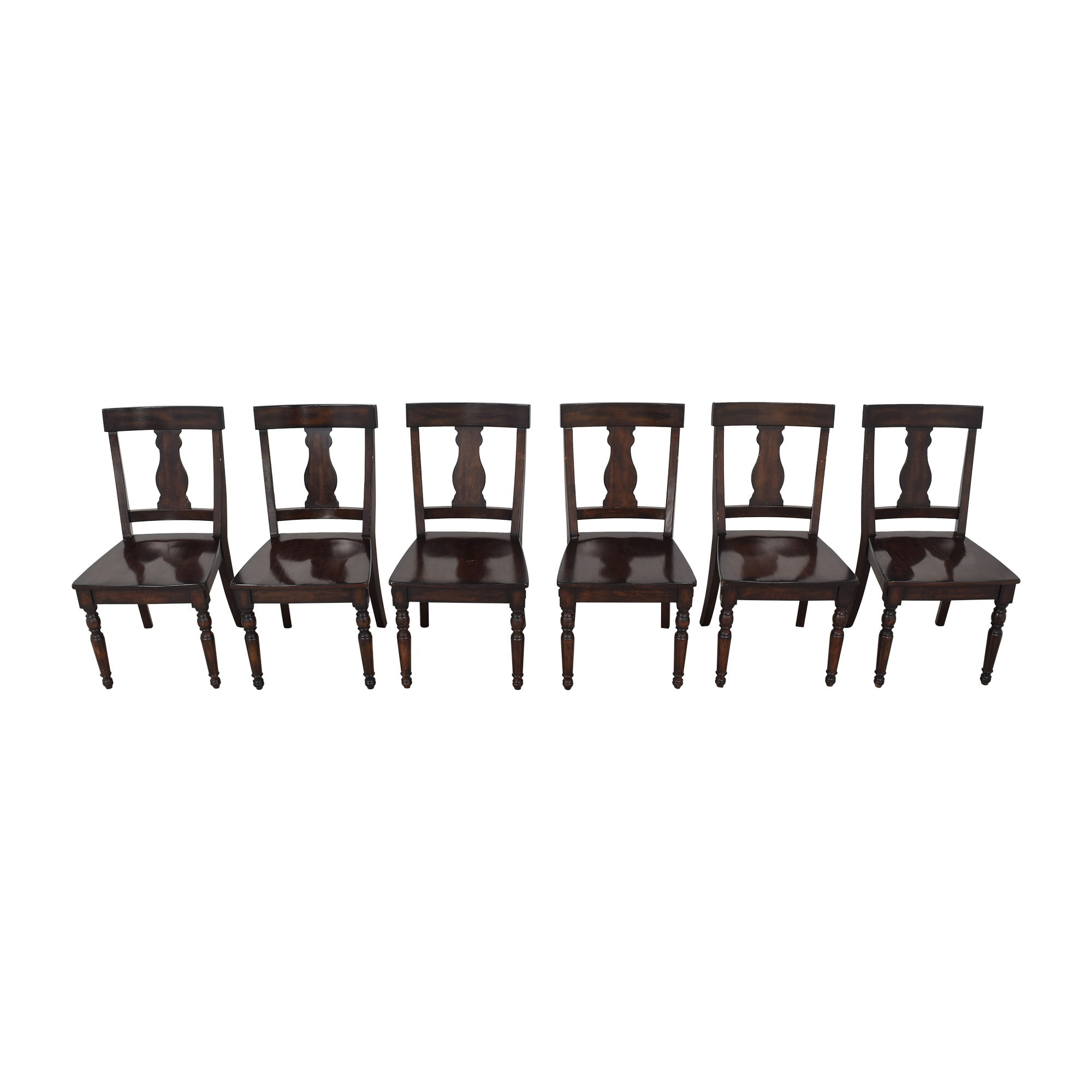 Pottery Barn Fiddleback Dining Chairs sale