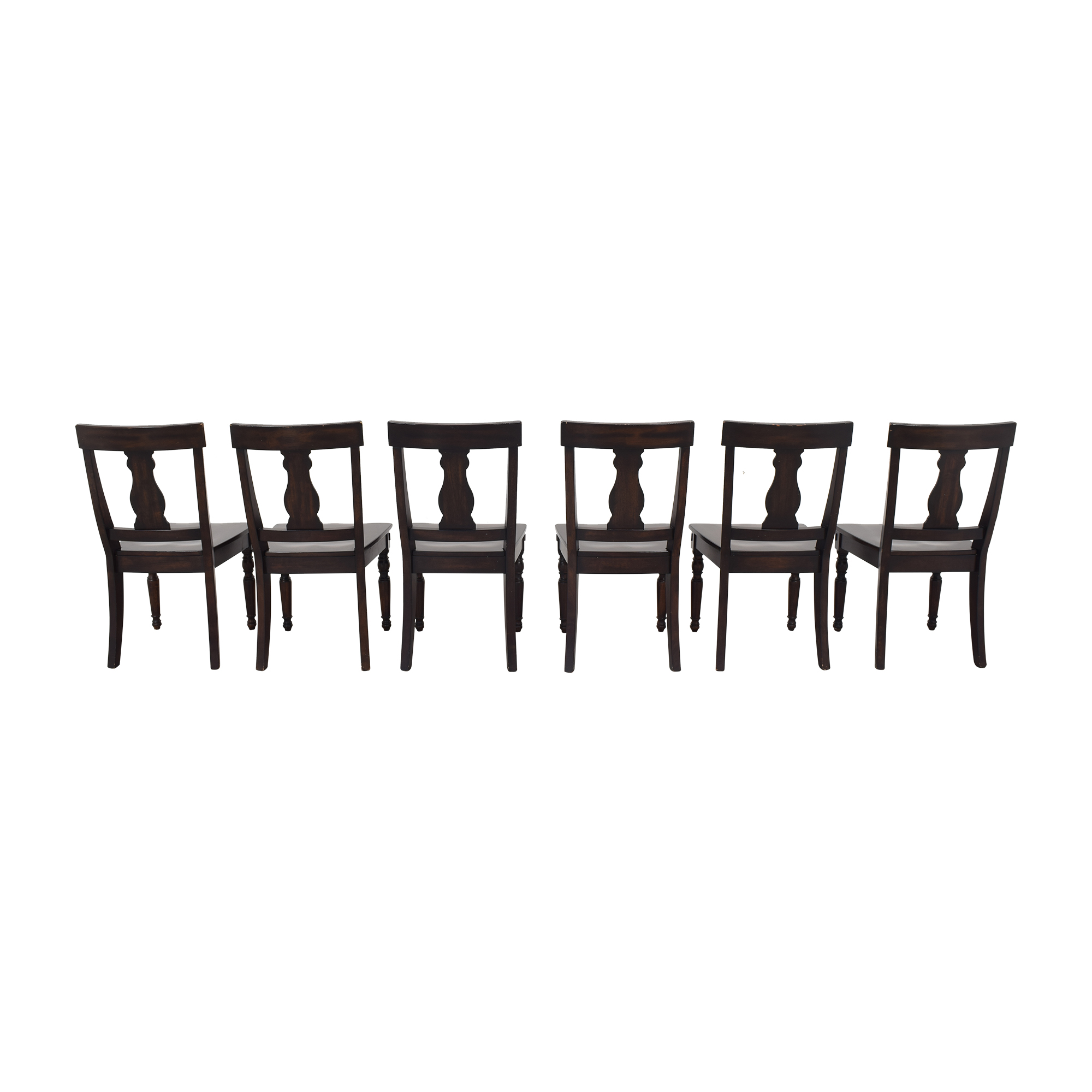Pottery Barn Pottery Barn Fiddleback Dining Chairs second hand