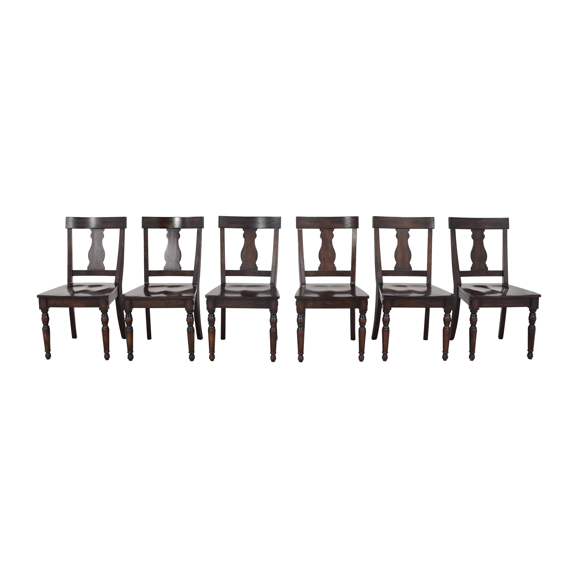 Pottery Barn Pottery Barn Fiddleback Dining Chairs discount