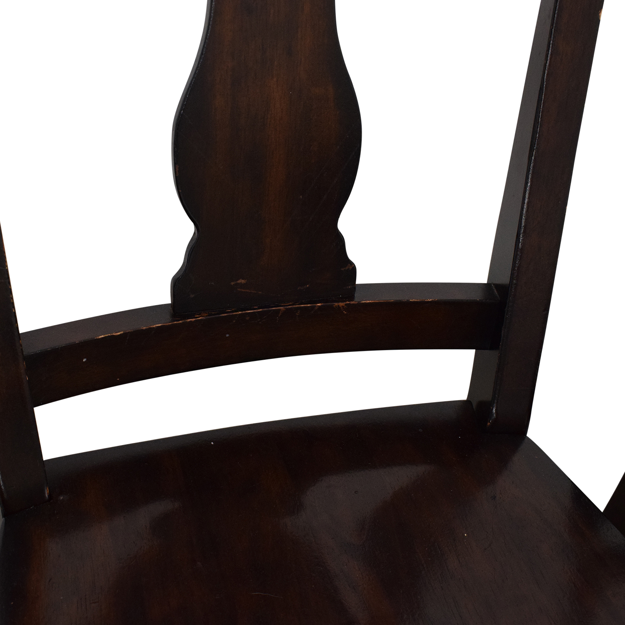 shop Pottery Barn Fiddleback Dining Chairs Pottery Barn Dining Chairs