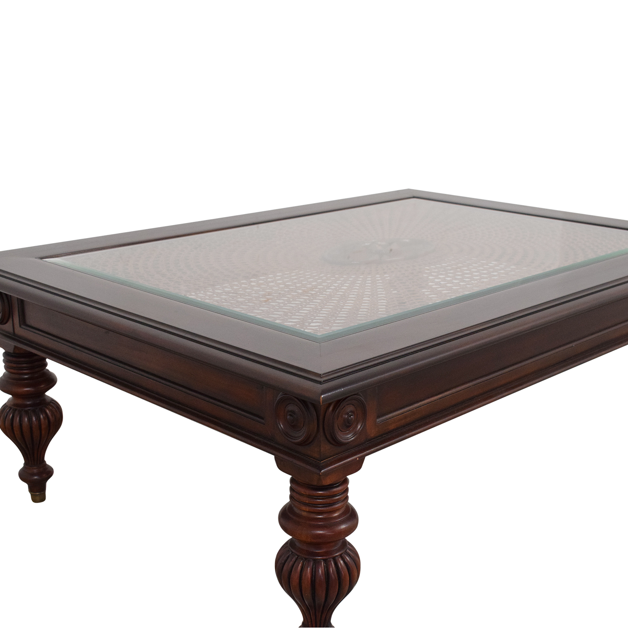 shop Ethan Allen British Classic Coffee Table Ethan Allen Coffee Tables