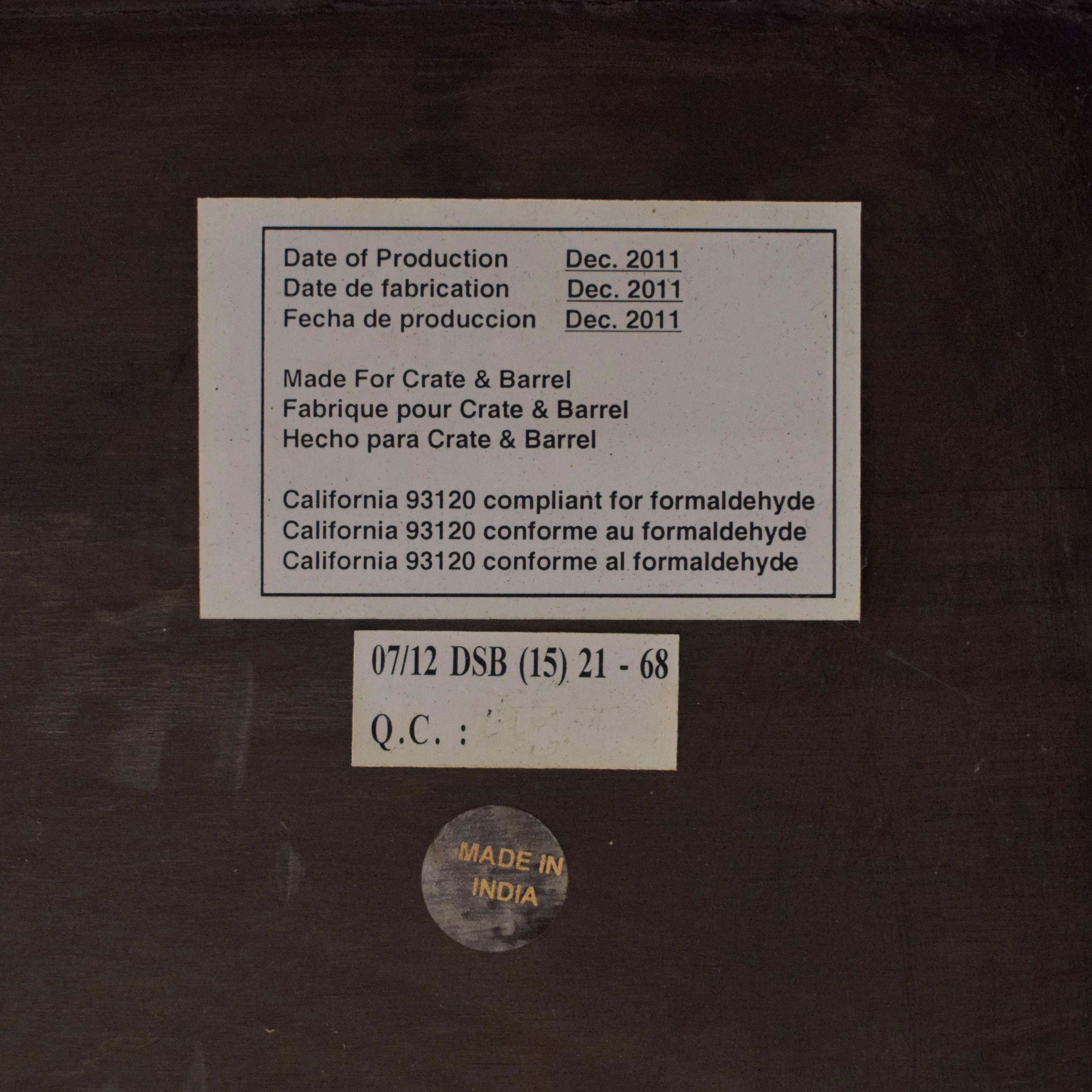 Crate & Barrel Crate & Barrel Galvin Sideboard second hand