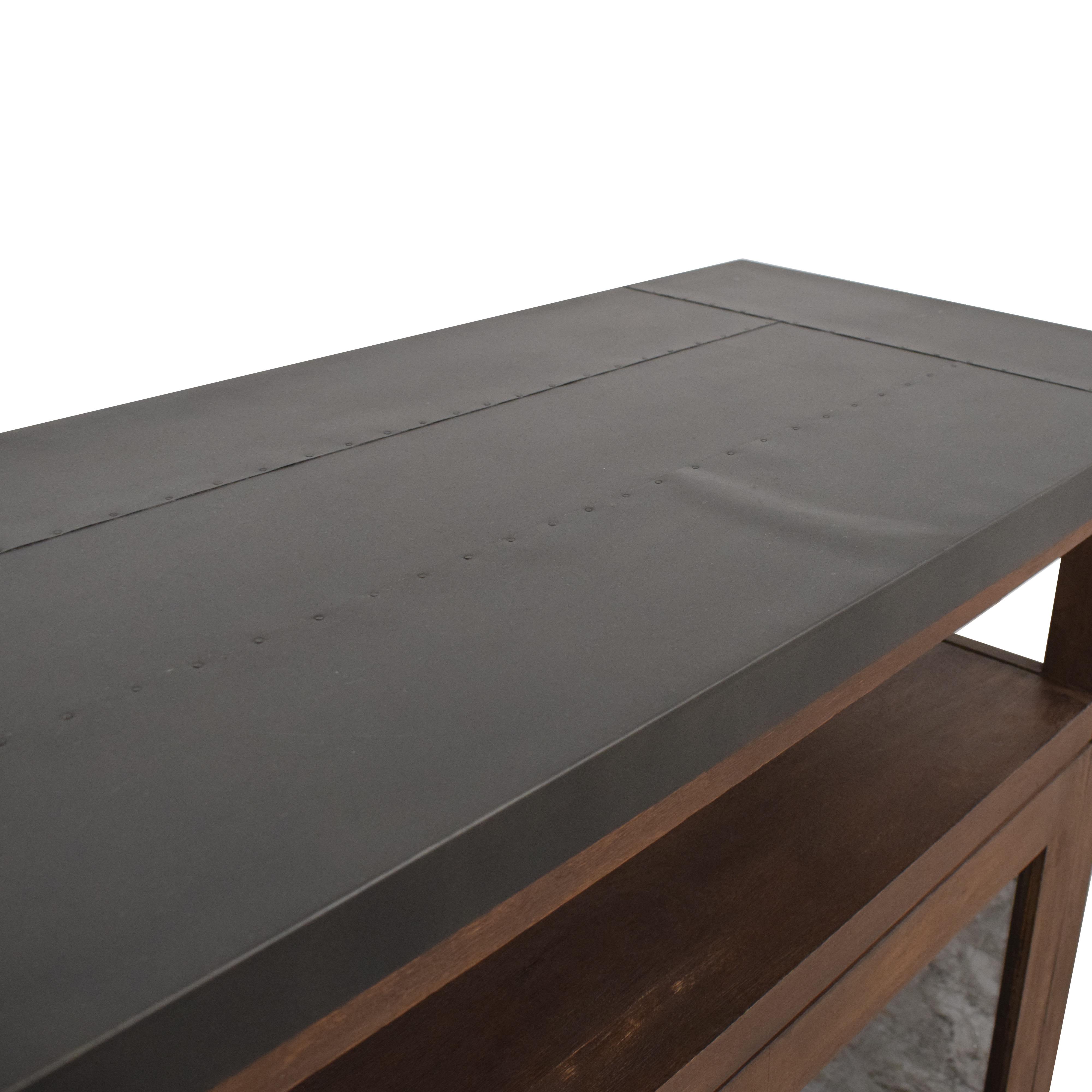Crate & Barrel Galvin Sideboard sale