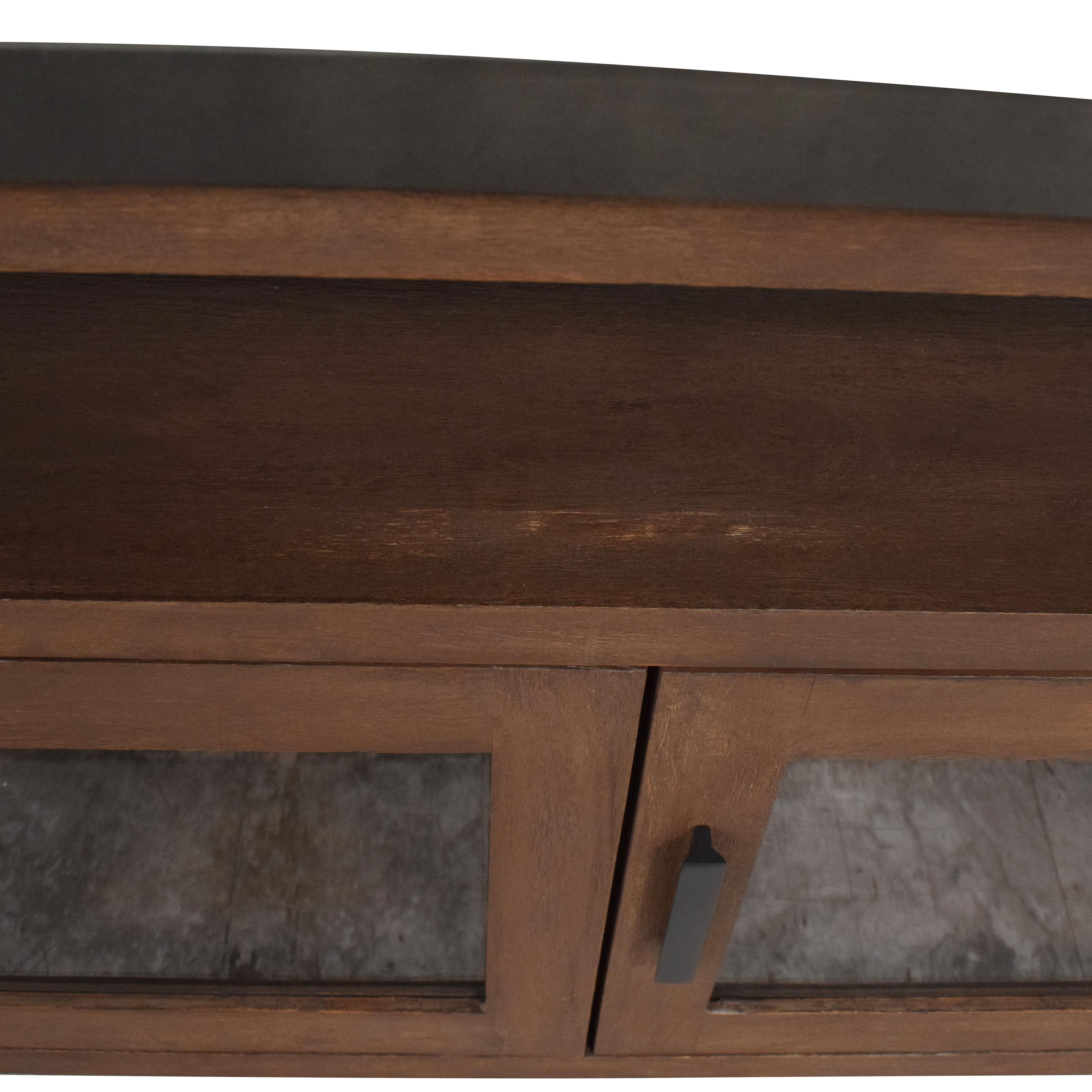 shop Crate & Barrel Galvin Sideboard Crate & Barrel Storage