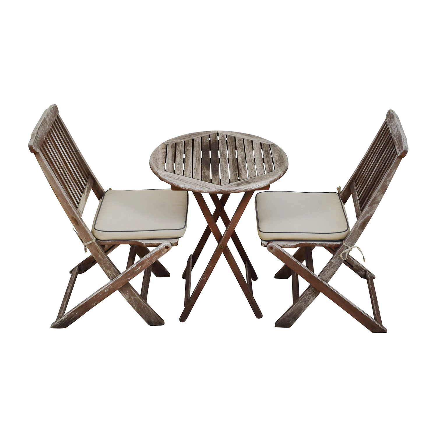 Outdoor Interiors Outdoor Interiors Rustic Patio Dining Table and Chairs Sofas