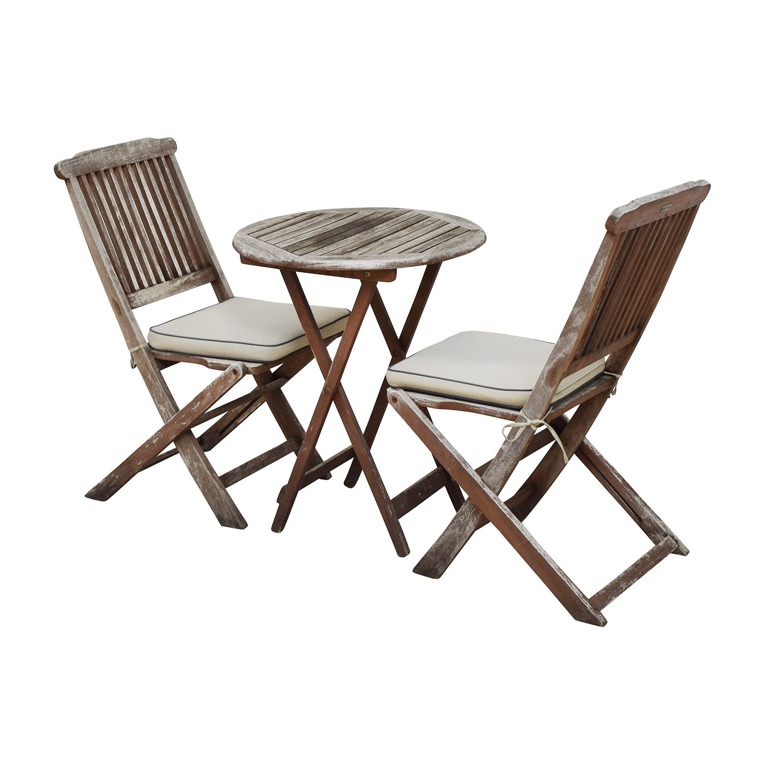 65 off outdoor interiors outdoor interiors rustic patio dining table and chairs tables. Black Bedroom Furniture Sets. Home Design Ideas