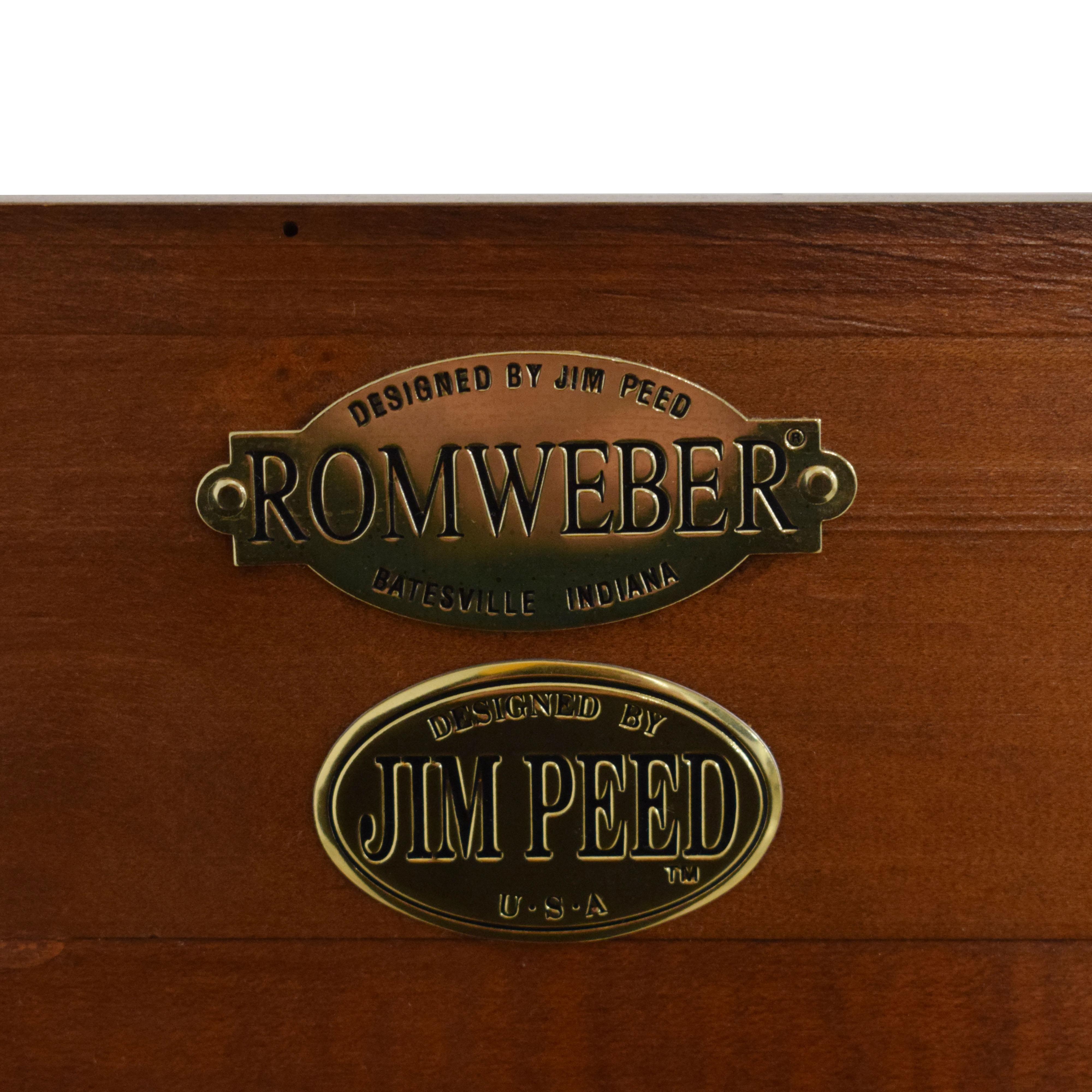 Romweber Romweber by Jim Peed Modern Bookcase dimensions