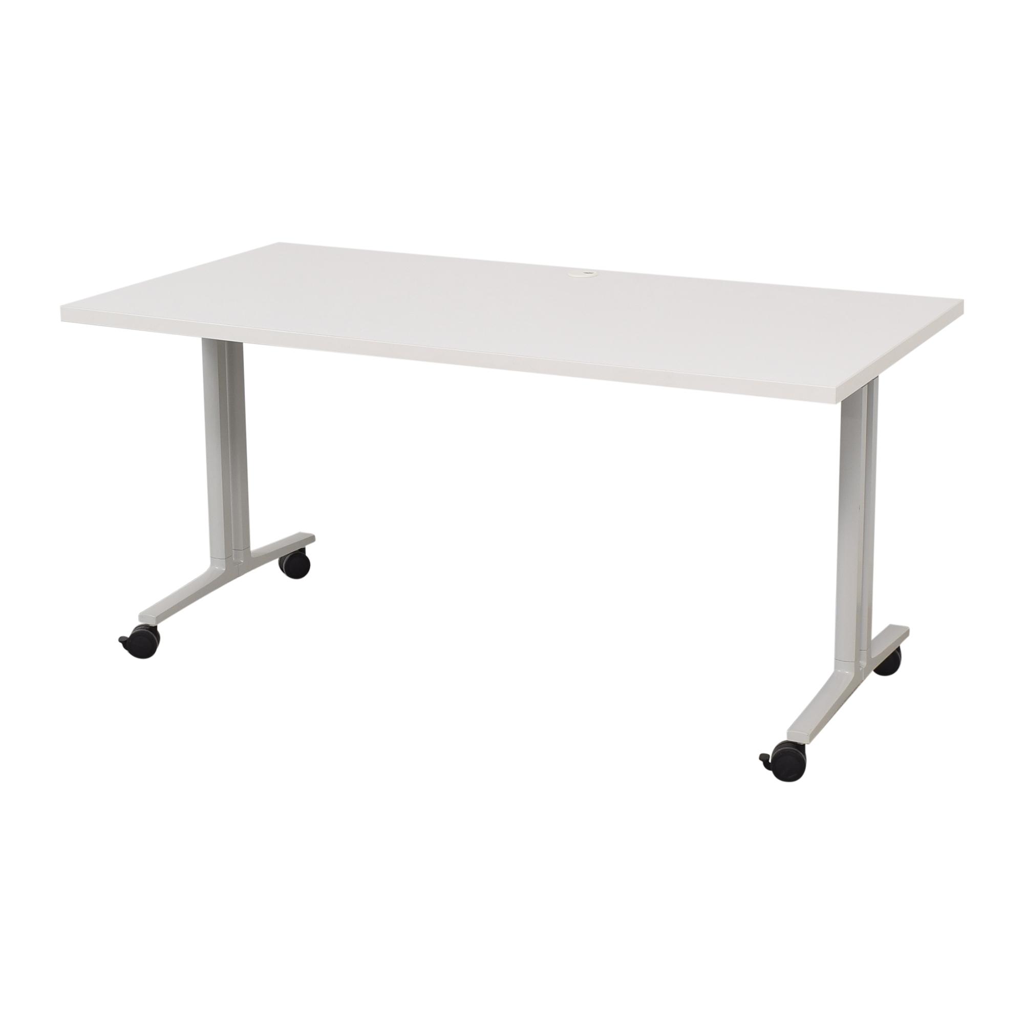 buy Herman Miller Herman Miller White Everywhere Tables Flip-Top Desk online