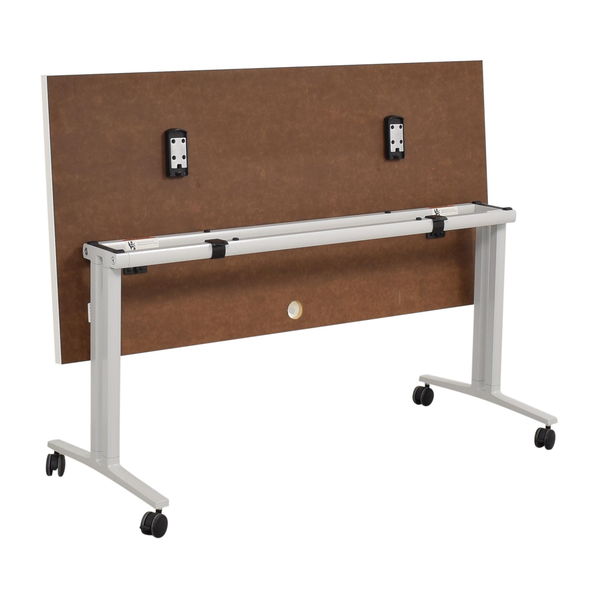 Herman Miller Herman Miller White Everywhere Tables Flip-Top Desk used