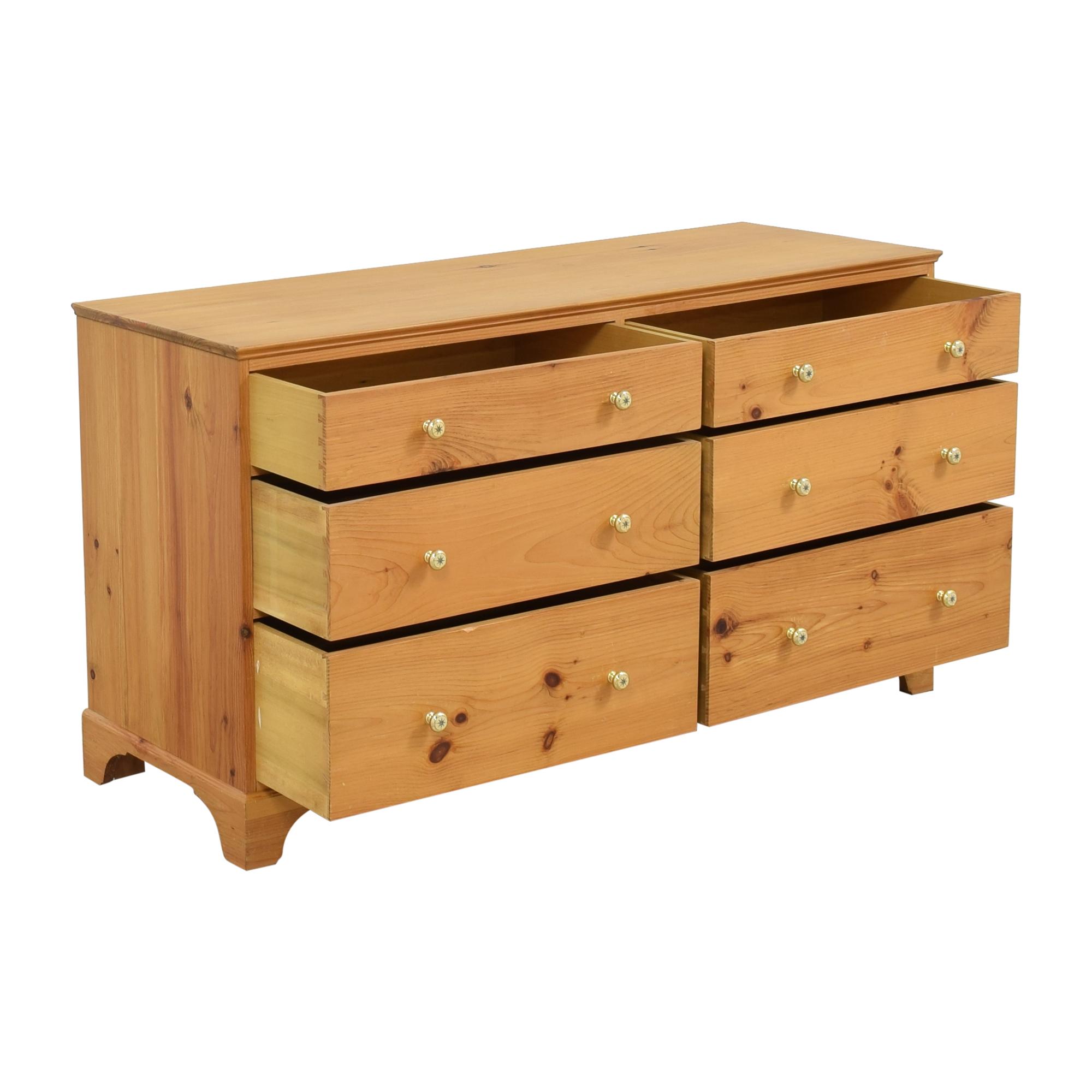 buy Six Drawer Double Dresser  Dressers