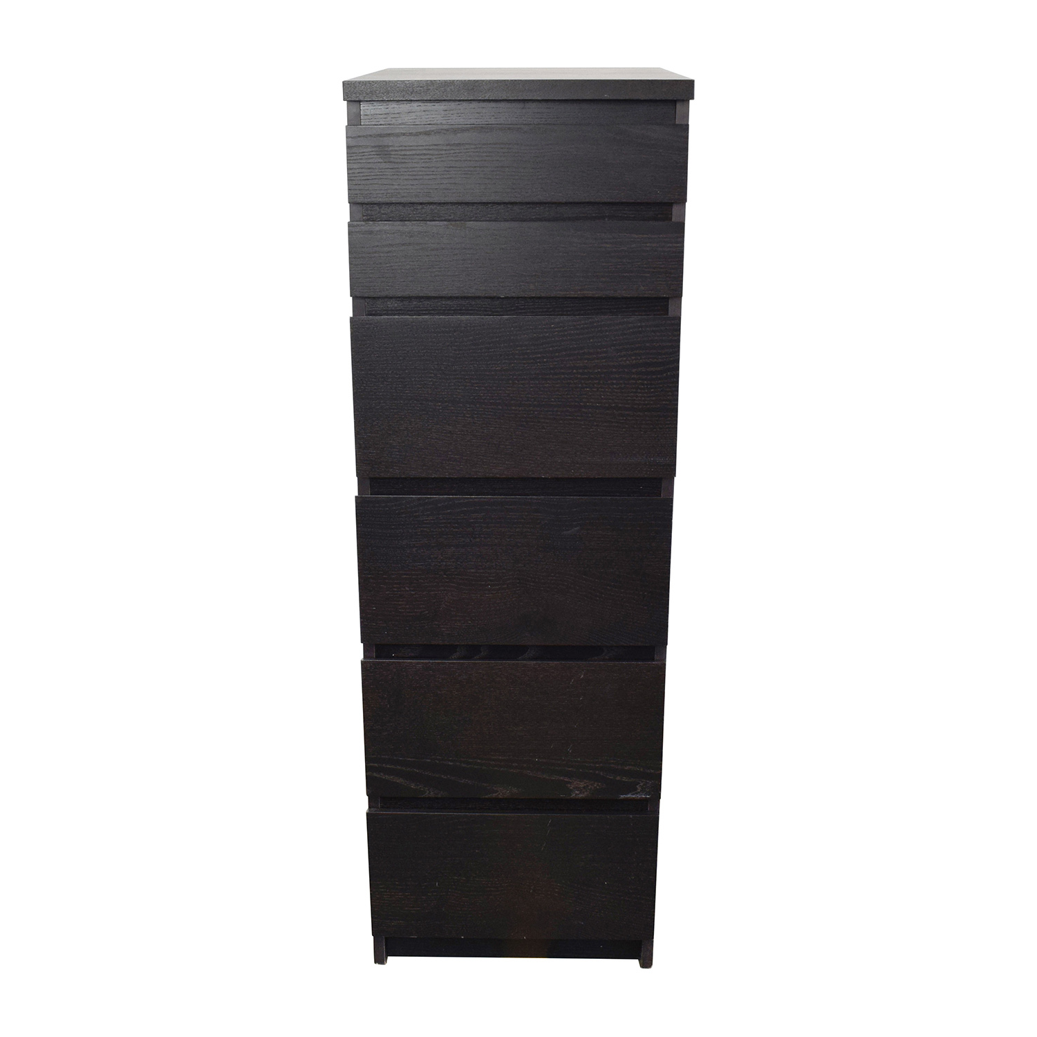 shop IKEA Tall Narrow Dark Brown Dresser IKEA Dressers