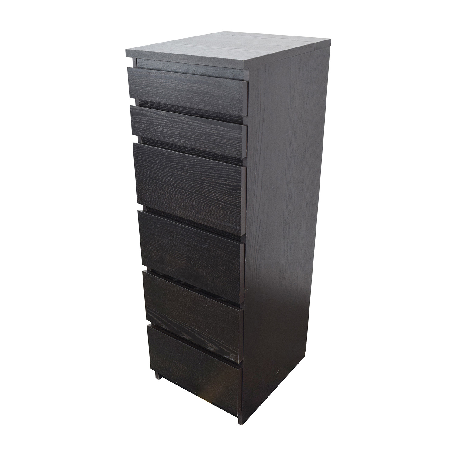 44 off ikea ikea tall narrow dark brown dresser storage. Black Bedroom Furniture Sets. Home Design Ideas
