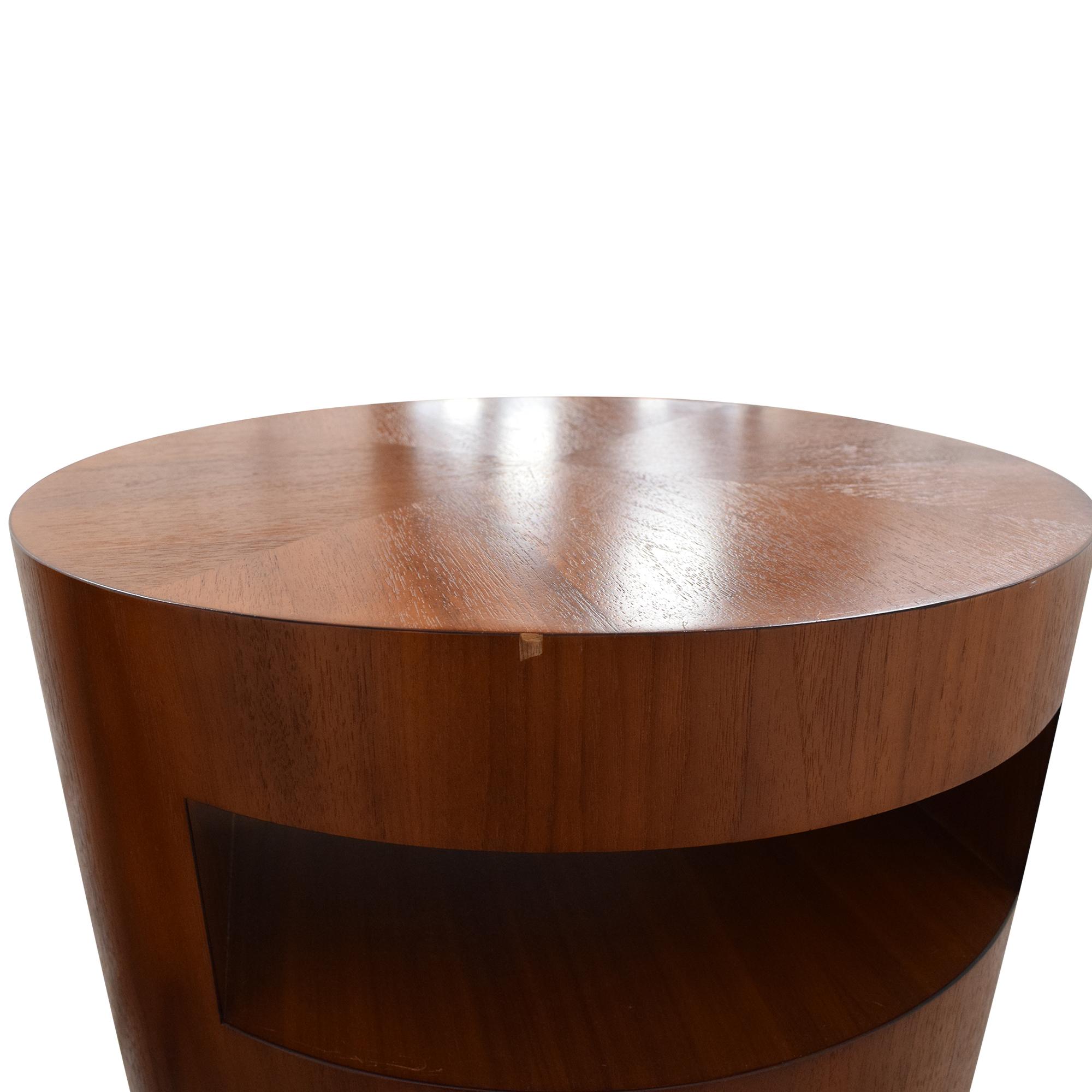 Crate & Barrel Crate & Barrel Tambe End Tables nj