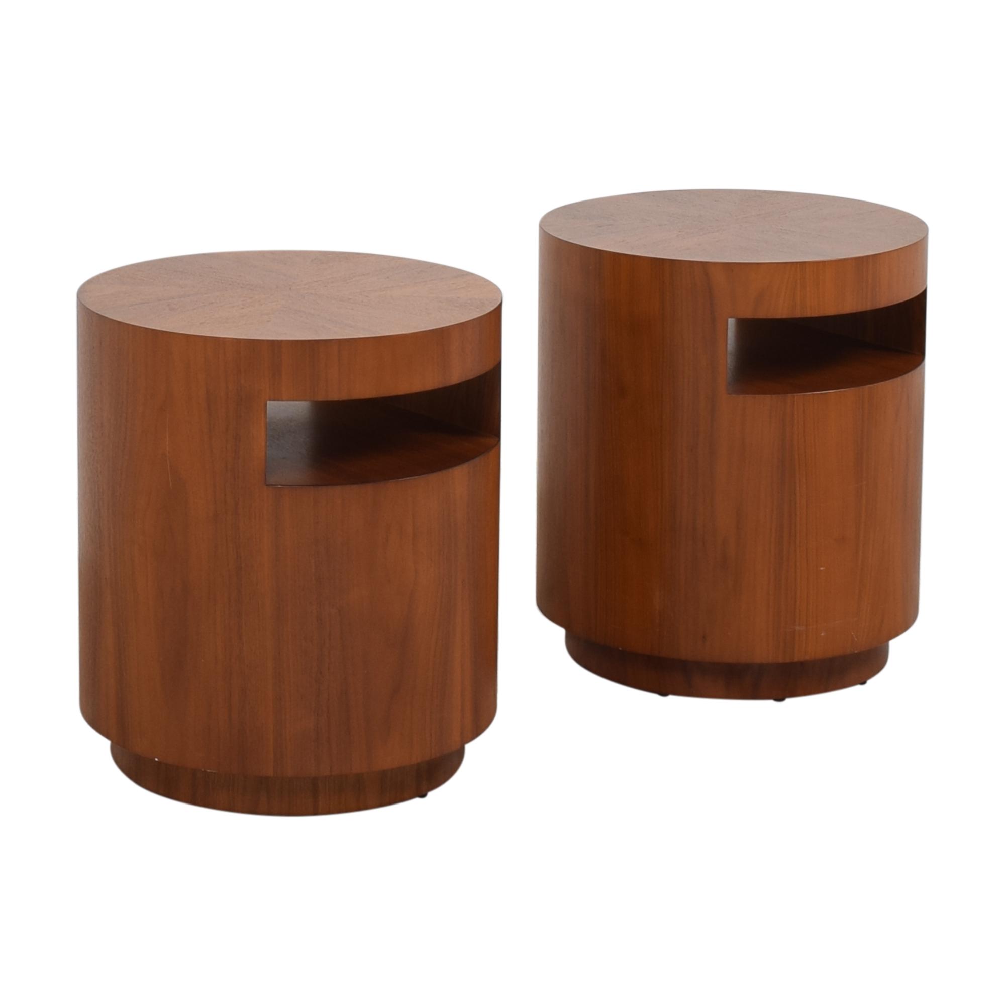 Crate & Barrel Crate & Barrel Tambe End Tables