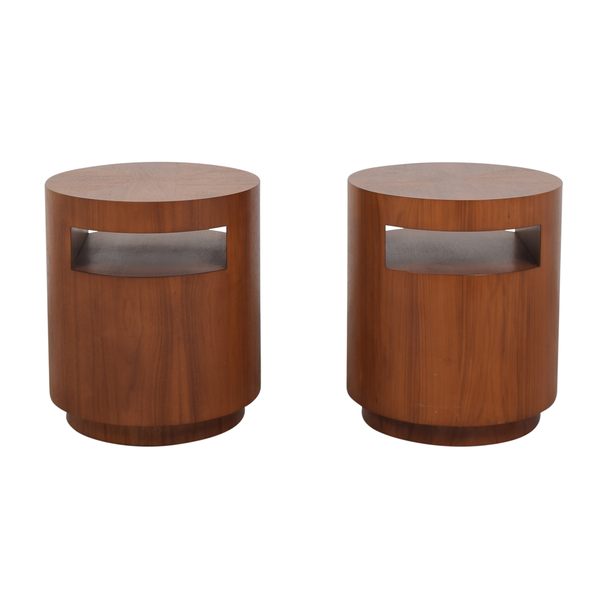 Crate & Barrel Crate & Barrel Tambe End Tables discount