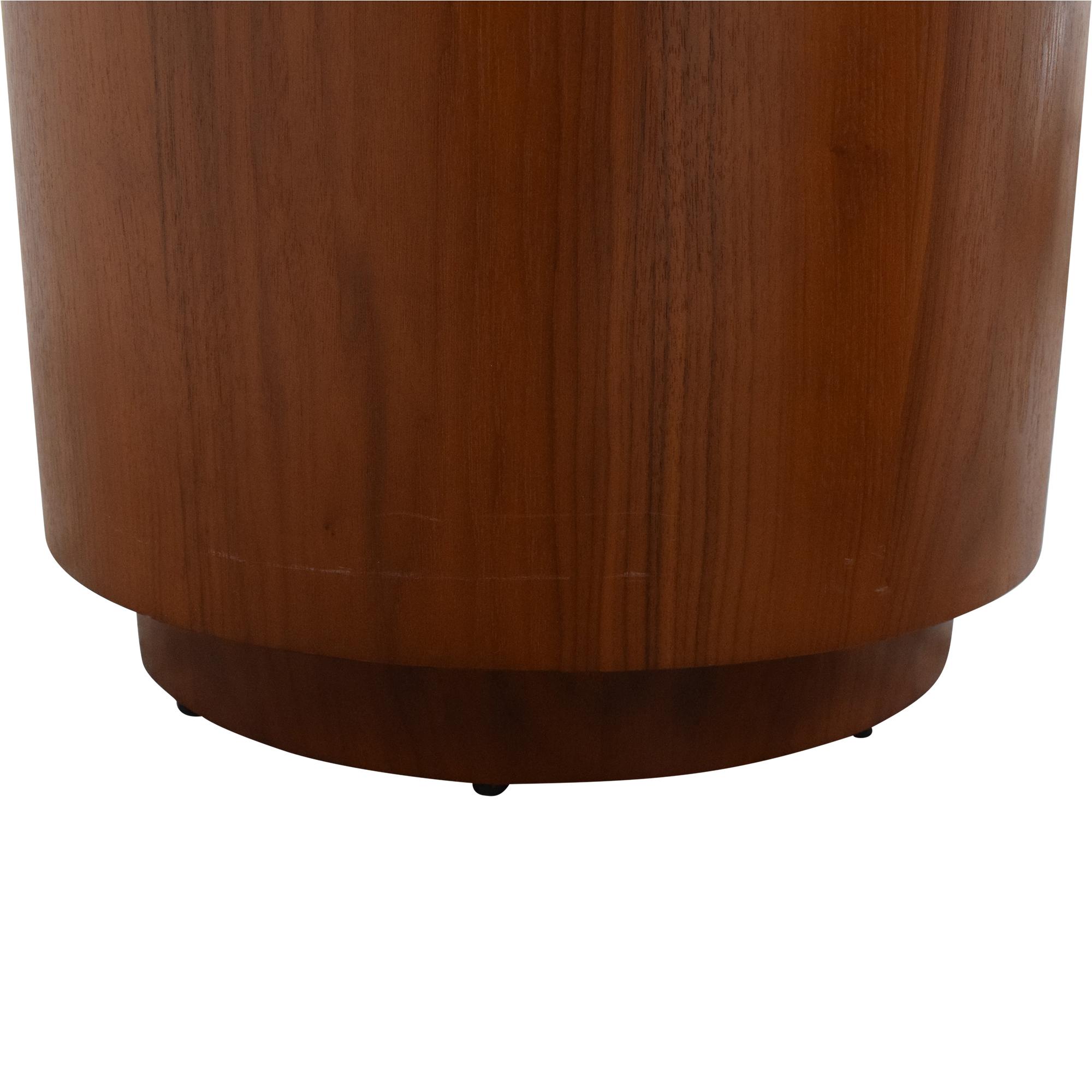 Crate & Barrel Crate & Barrel Tambe End Tables brown