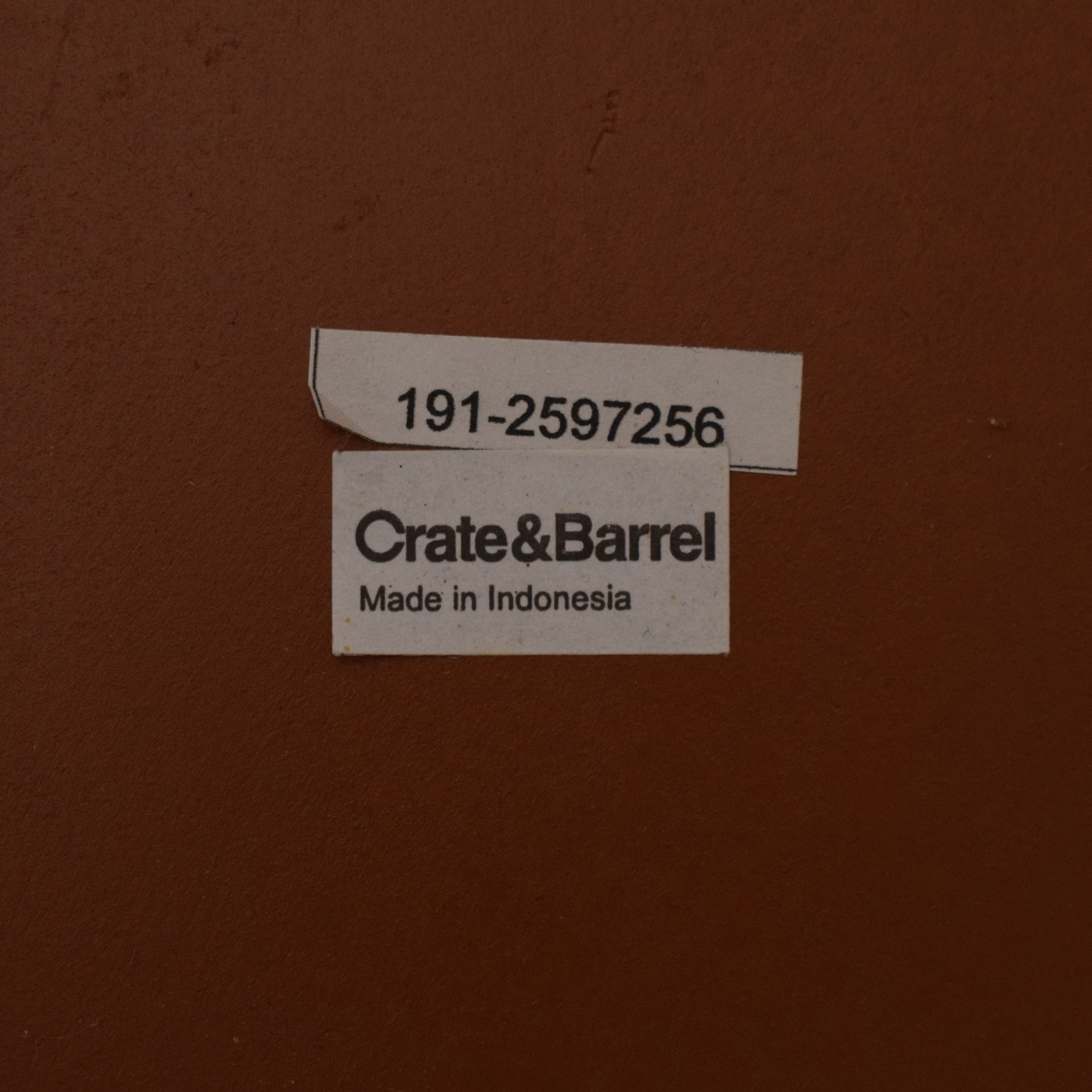 Crate & Barrel Crate & Barrel Tambe End Tables used