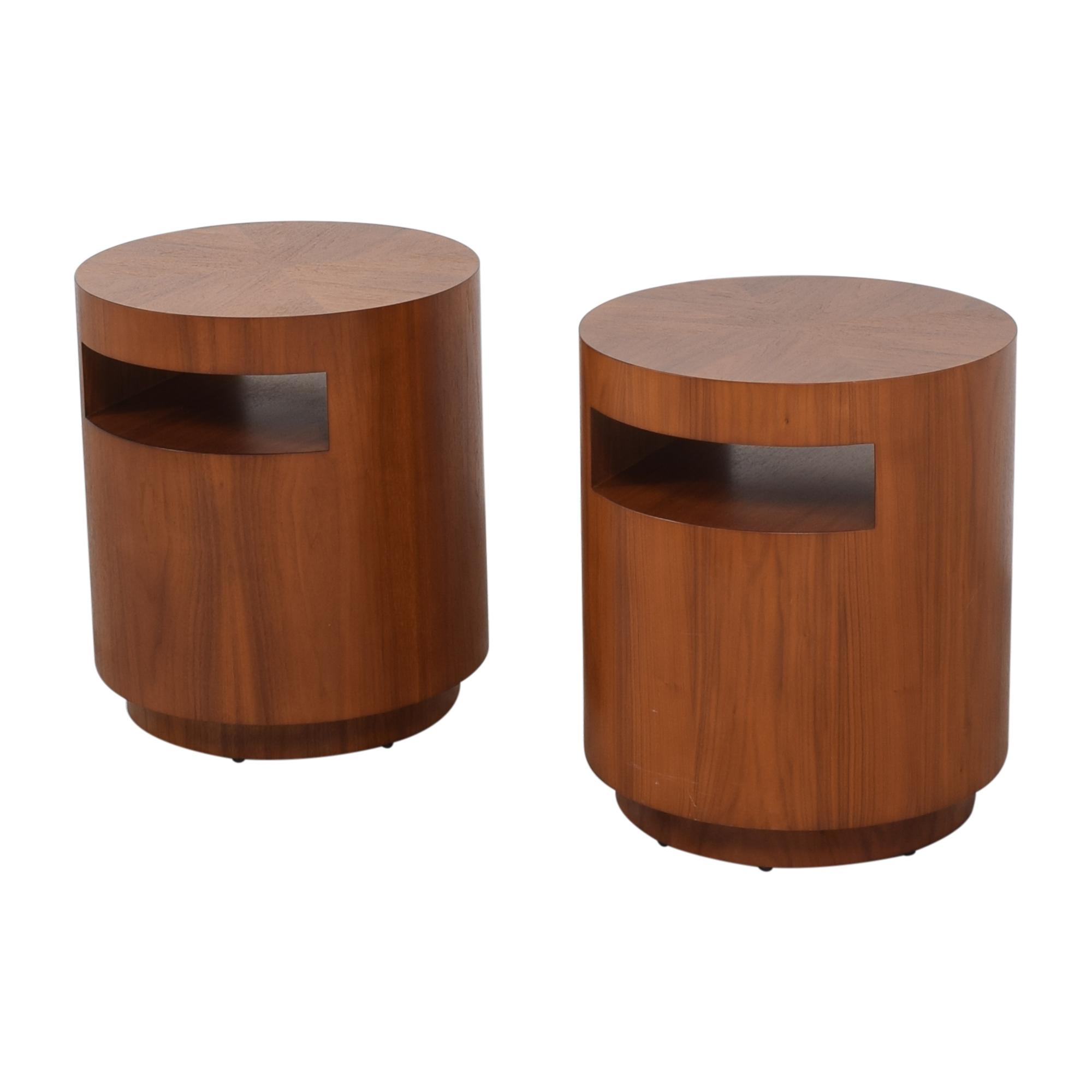 Crate & Barrel Crate & Barrel Tambe End Tables ma
