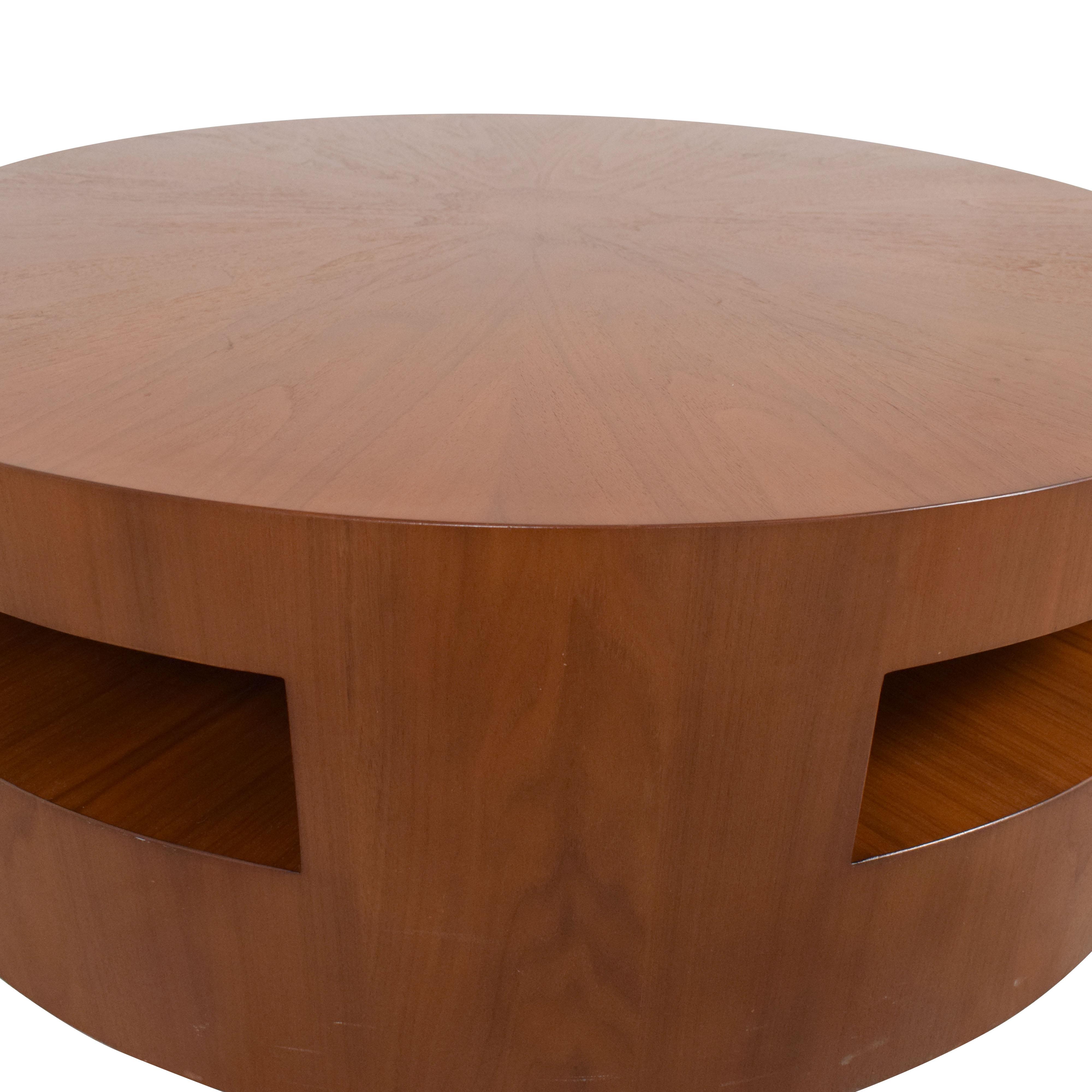 Crate & Barrel Crate & Barrel Tambe Coffee Table nj