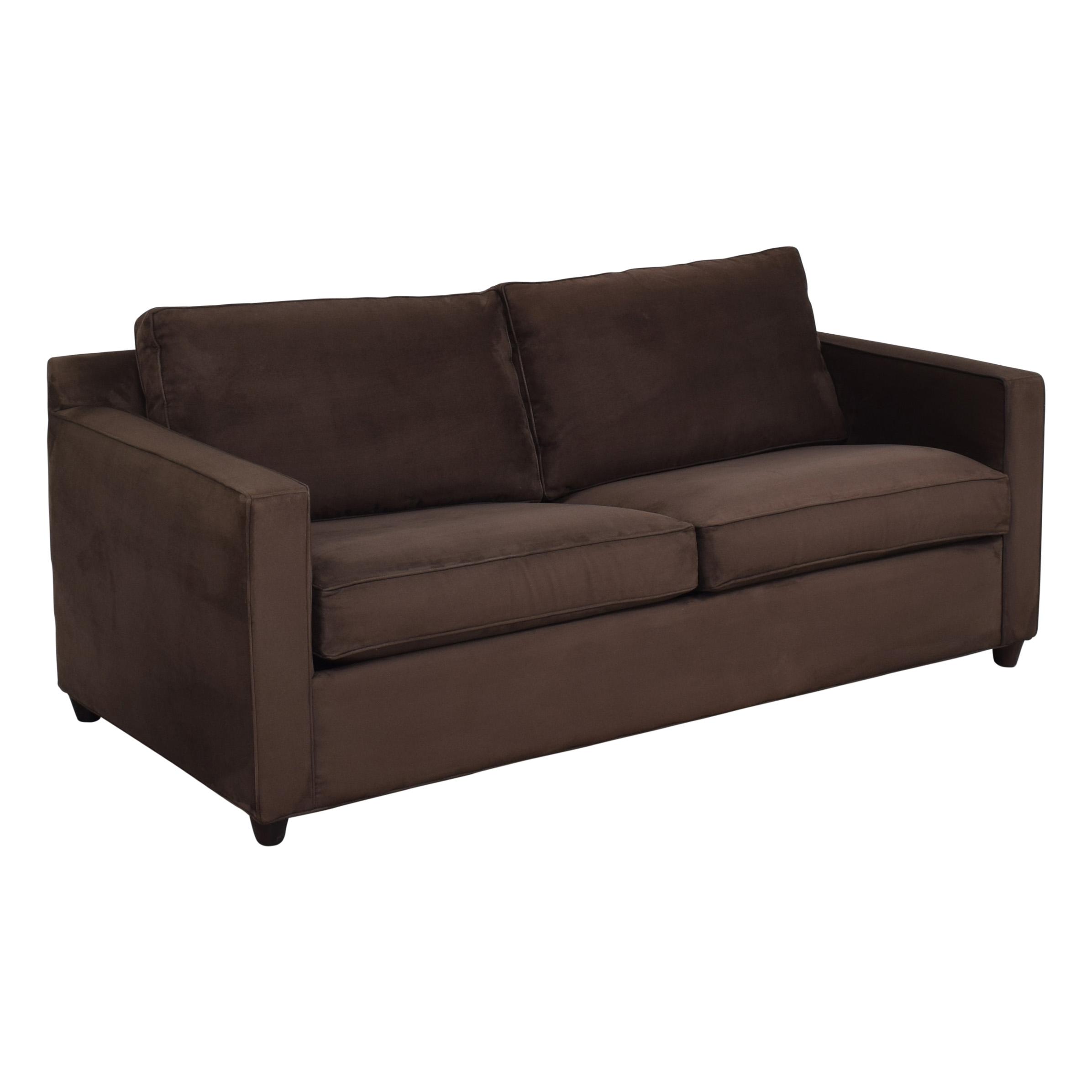 Crate & Barrel Crate & Barrel Barrett Queen Sleeper Sofa