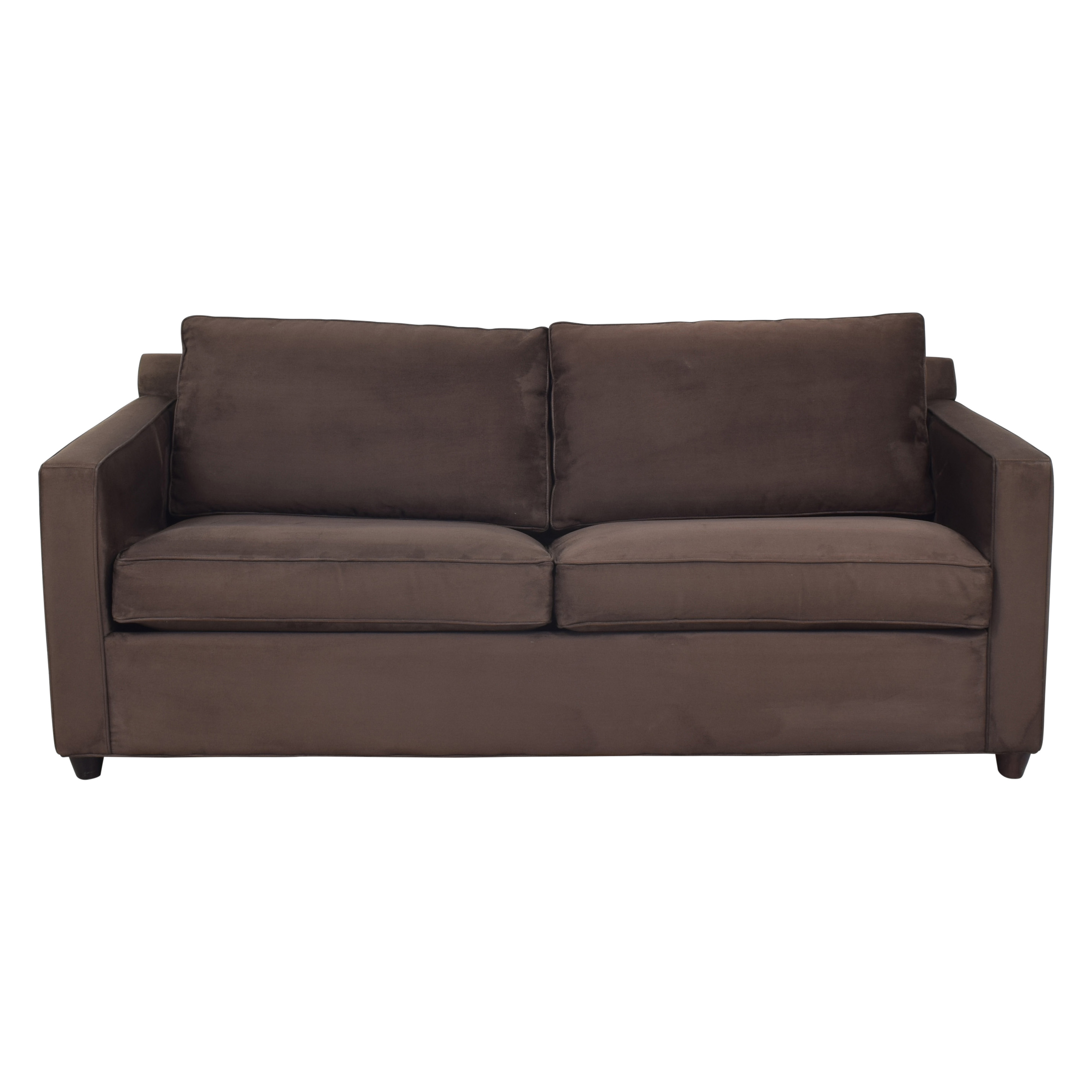 Crate & Barrel Crate & Barrel Barrett Queen Sleeper Sofa on sale