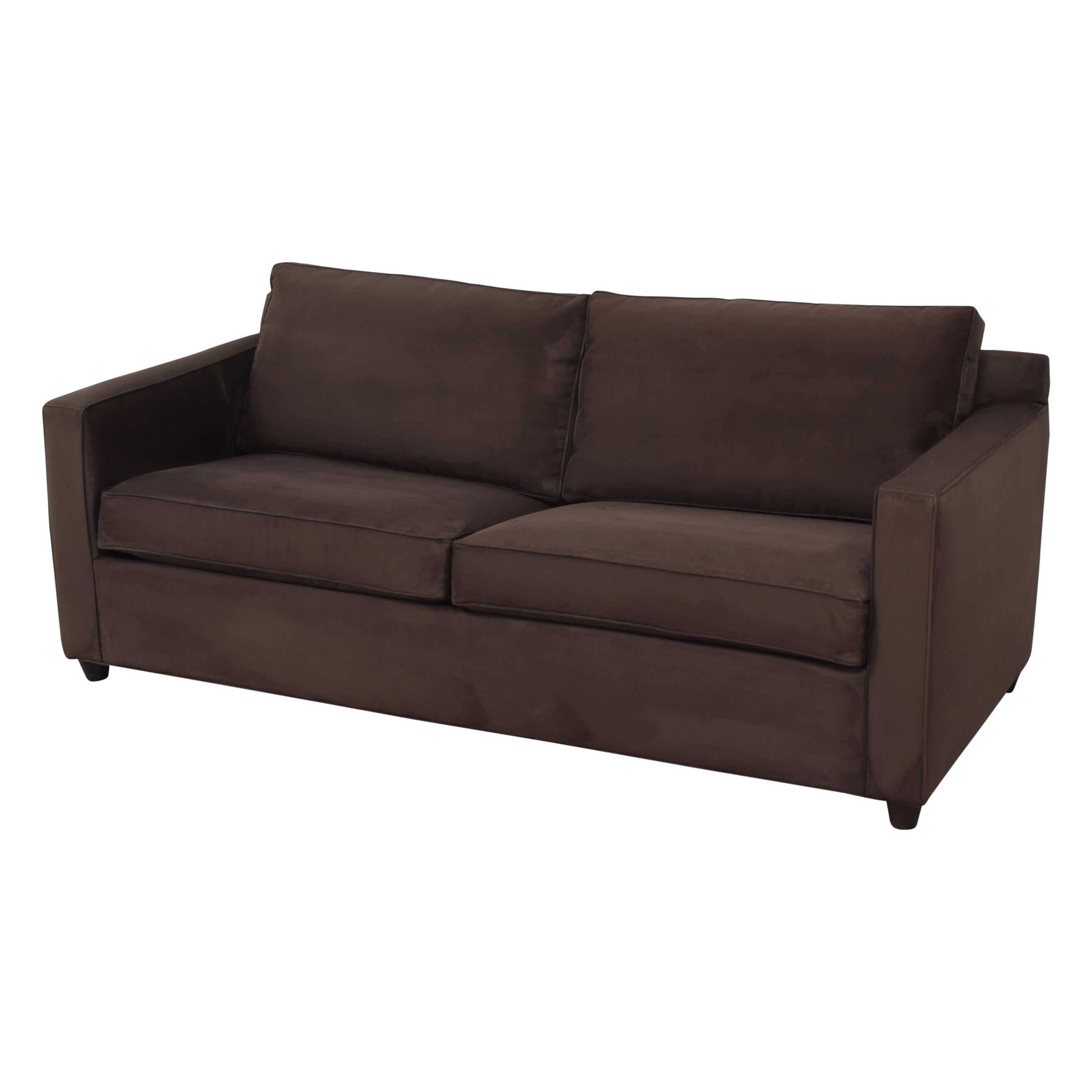 Crate & Barrel Crate & Barrel Barrett Queen Sleeper Sofa Sofas