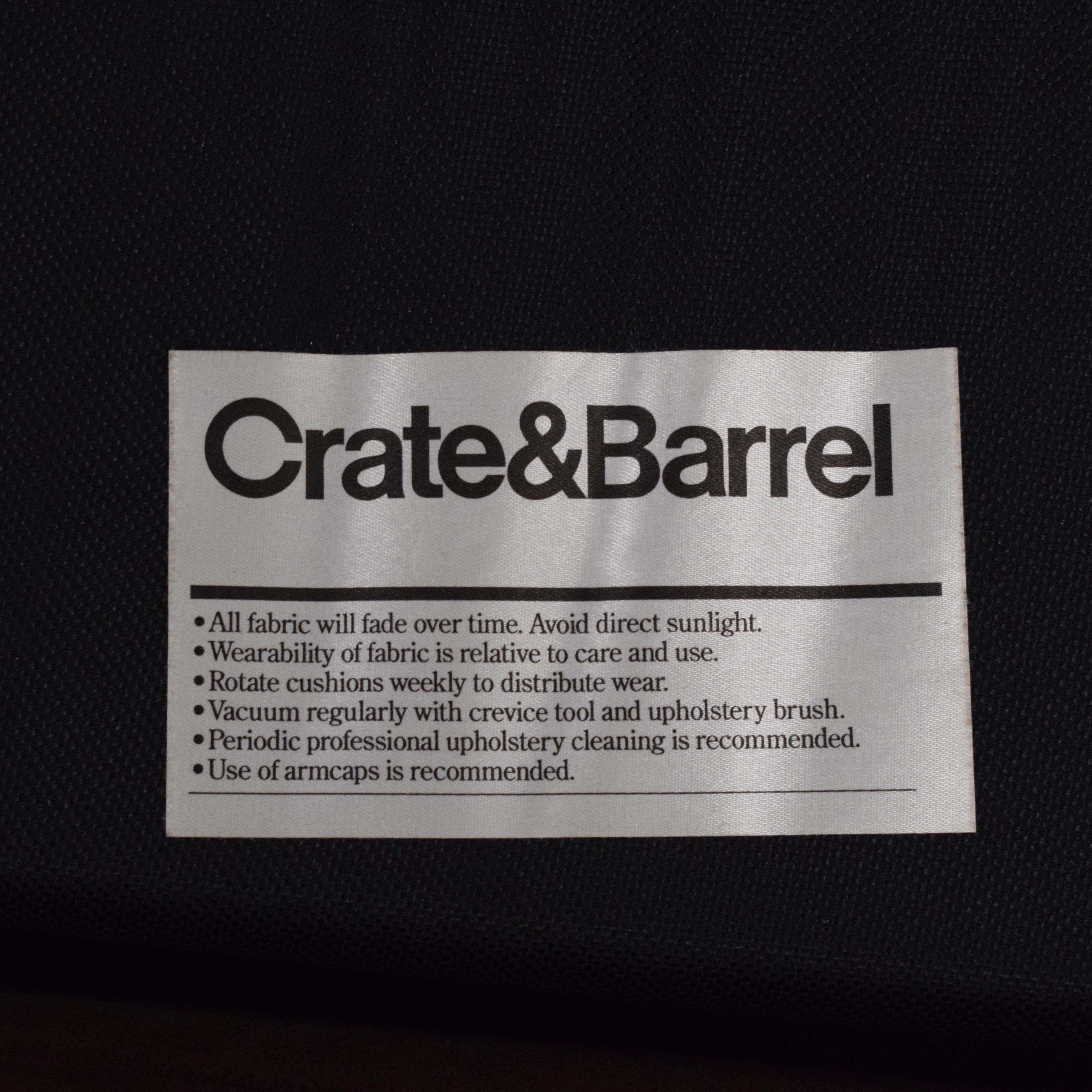 Crate & Barrel Barrett Queen Sleeper Sofa sale