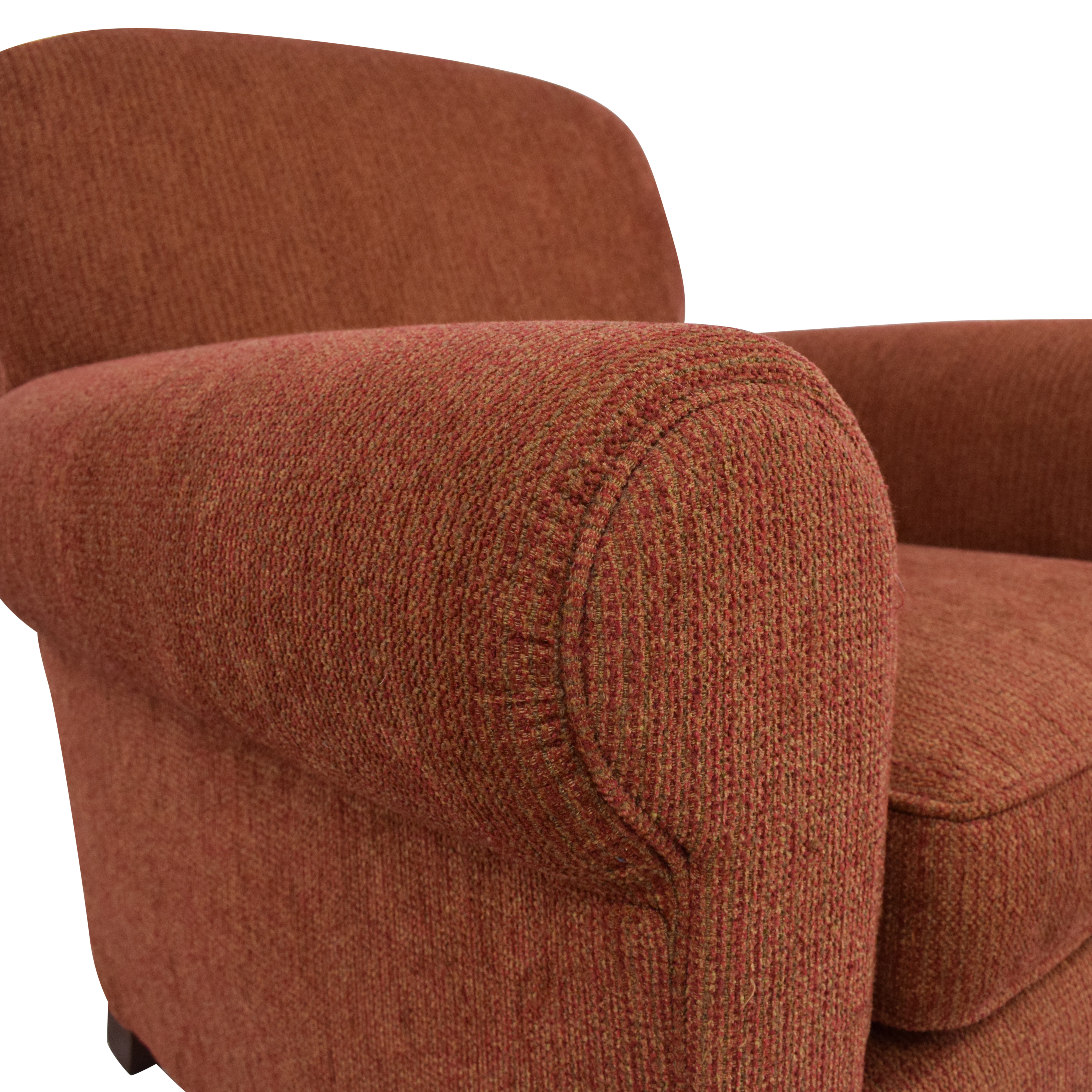 shop Crate & Barrel by Mitchell Gold Armchair Crate & Barrel
