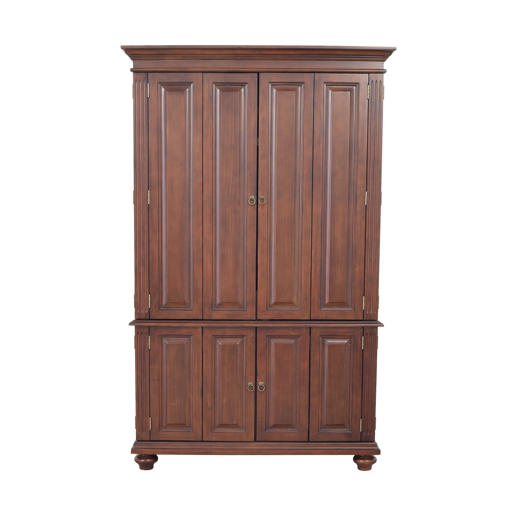 shop Ballard Designs Slim Chadwick Media Armoire Ballard Designs Wardrobes & Armoires