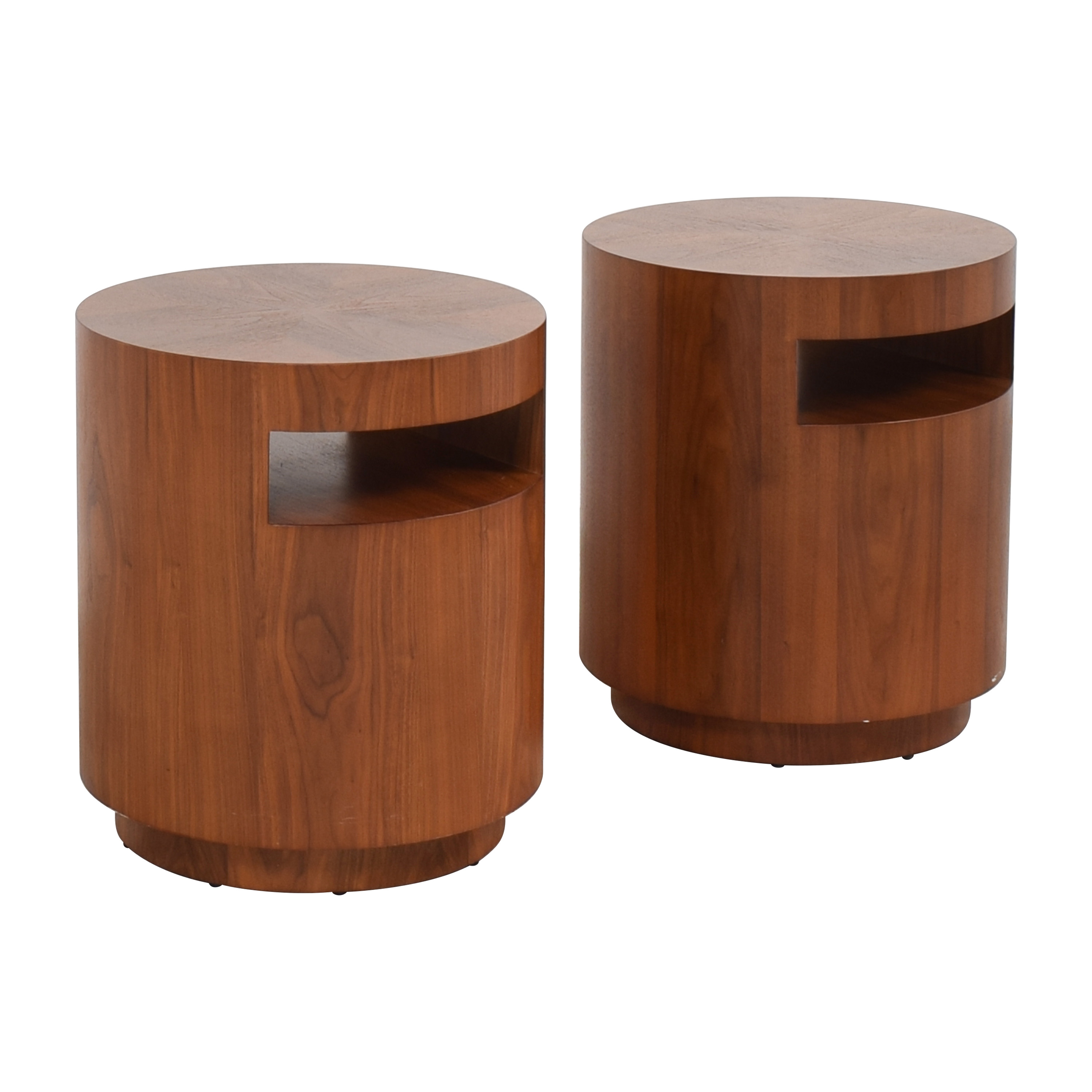 Crate & Barrel Tambe End Tables sale