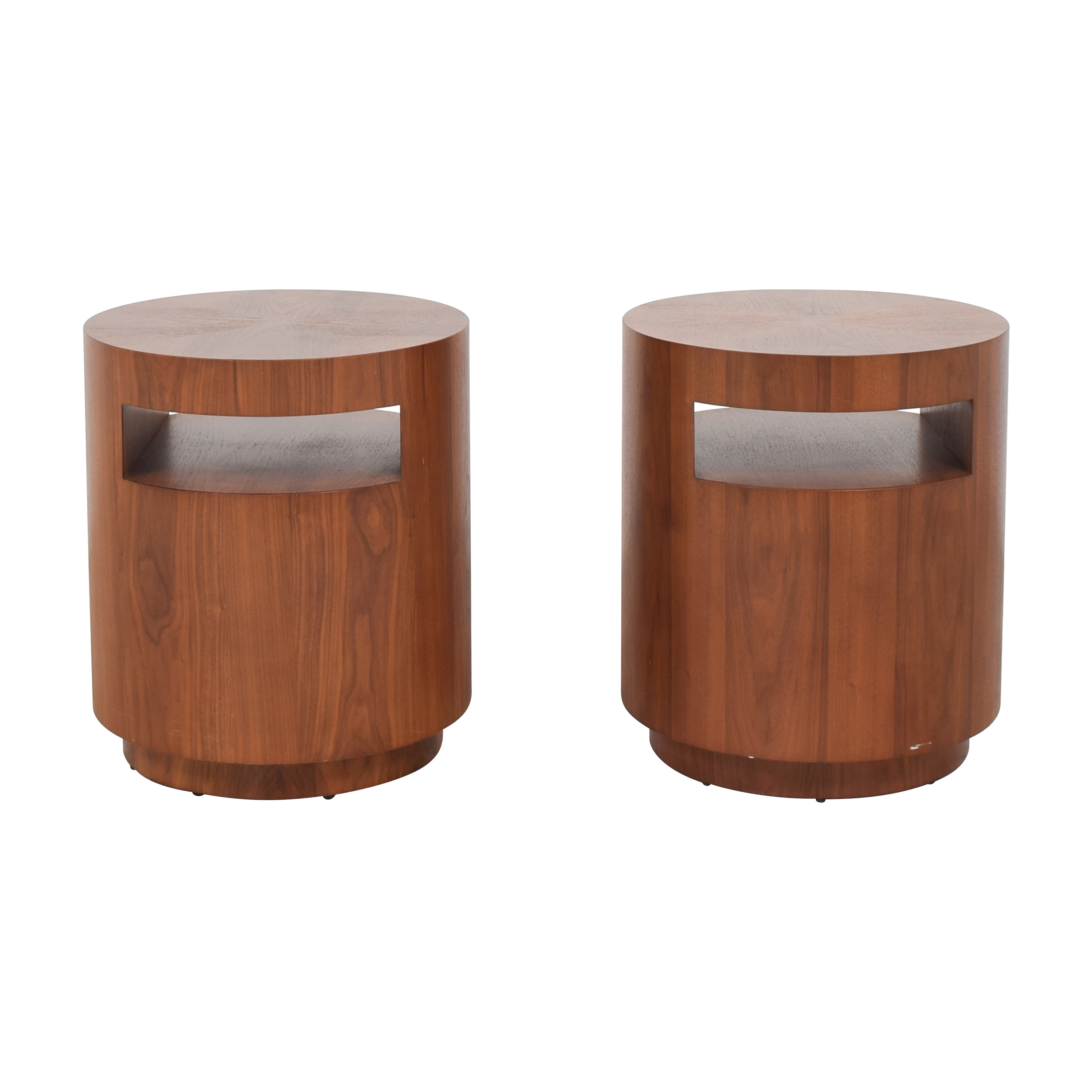 Crate & Barrel Tambe End Tables / Tables