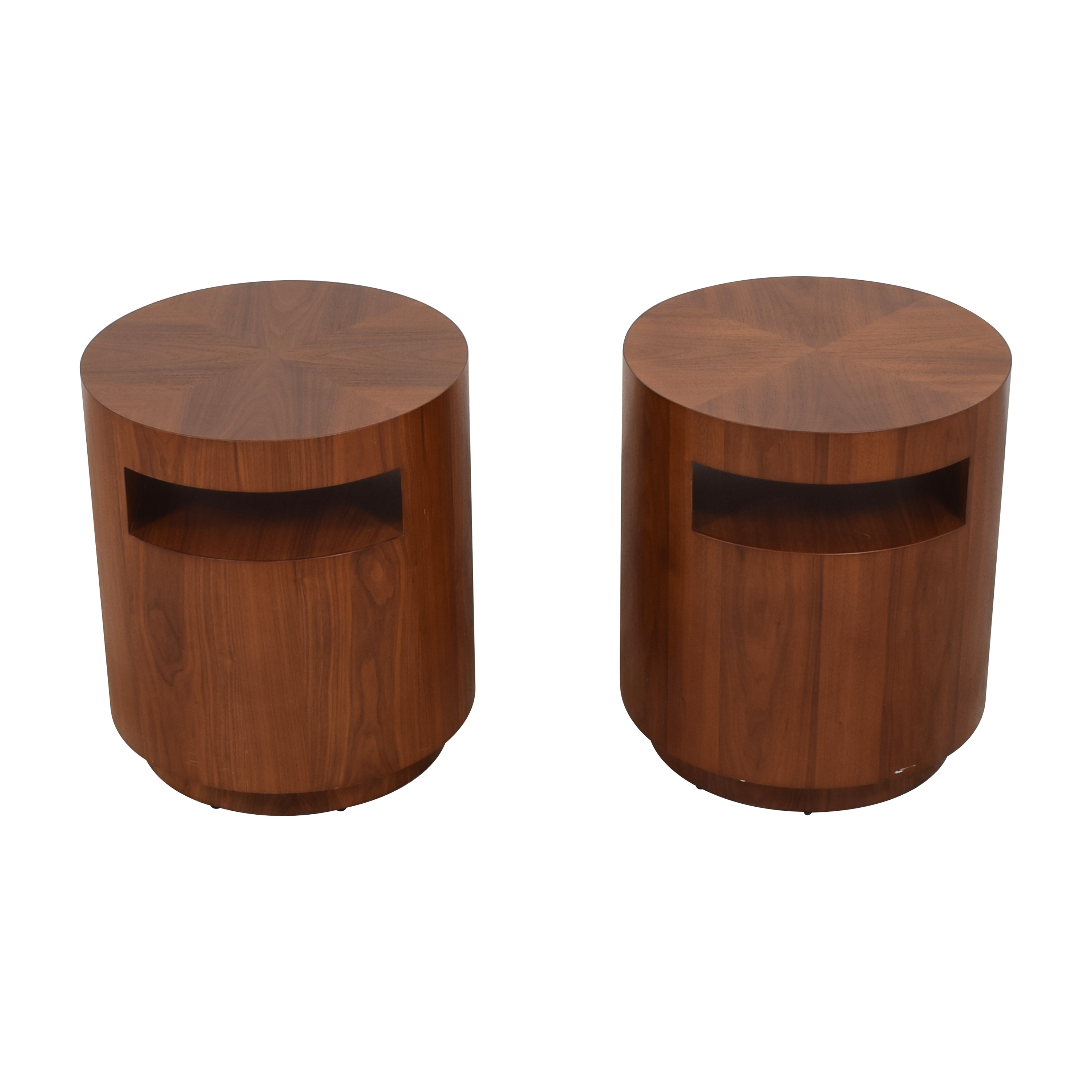 Crate & Barrel Crate & Barrel Tambe End Tables second hand